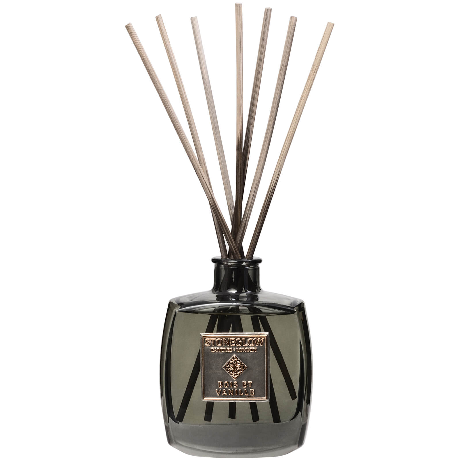 Stoneglow Metallique Collection Bois Et Vanille Reed Diffuser