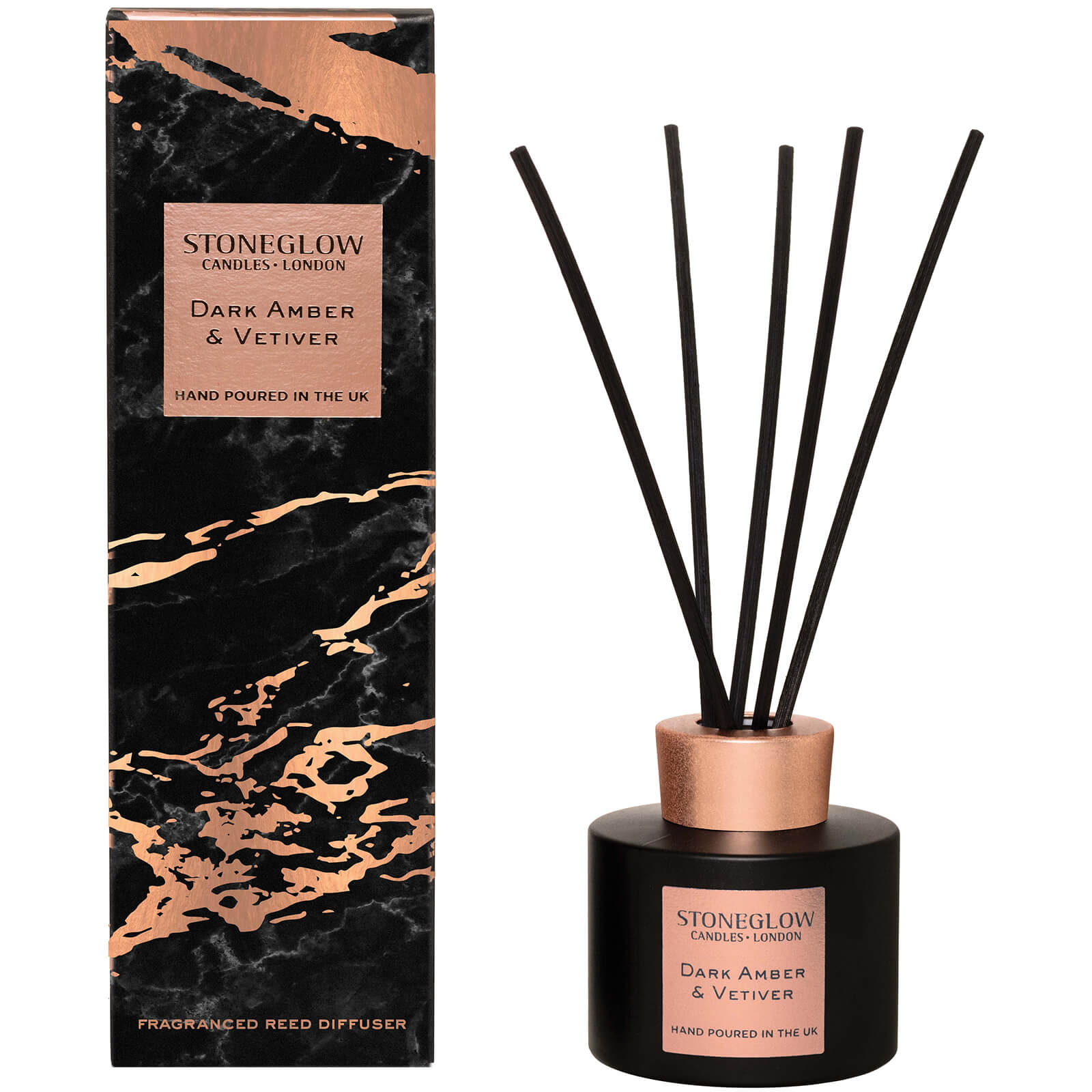 Stoneglow Luna Collection Dark Amber and Vetiver Diffuser