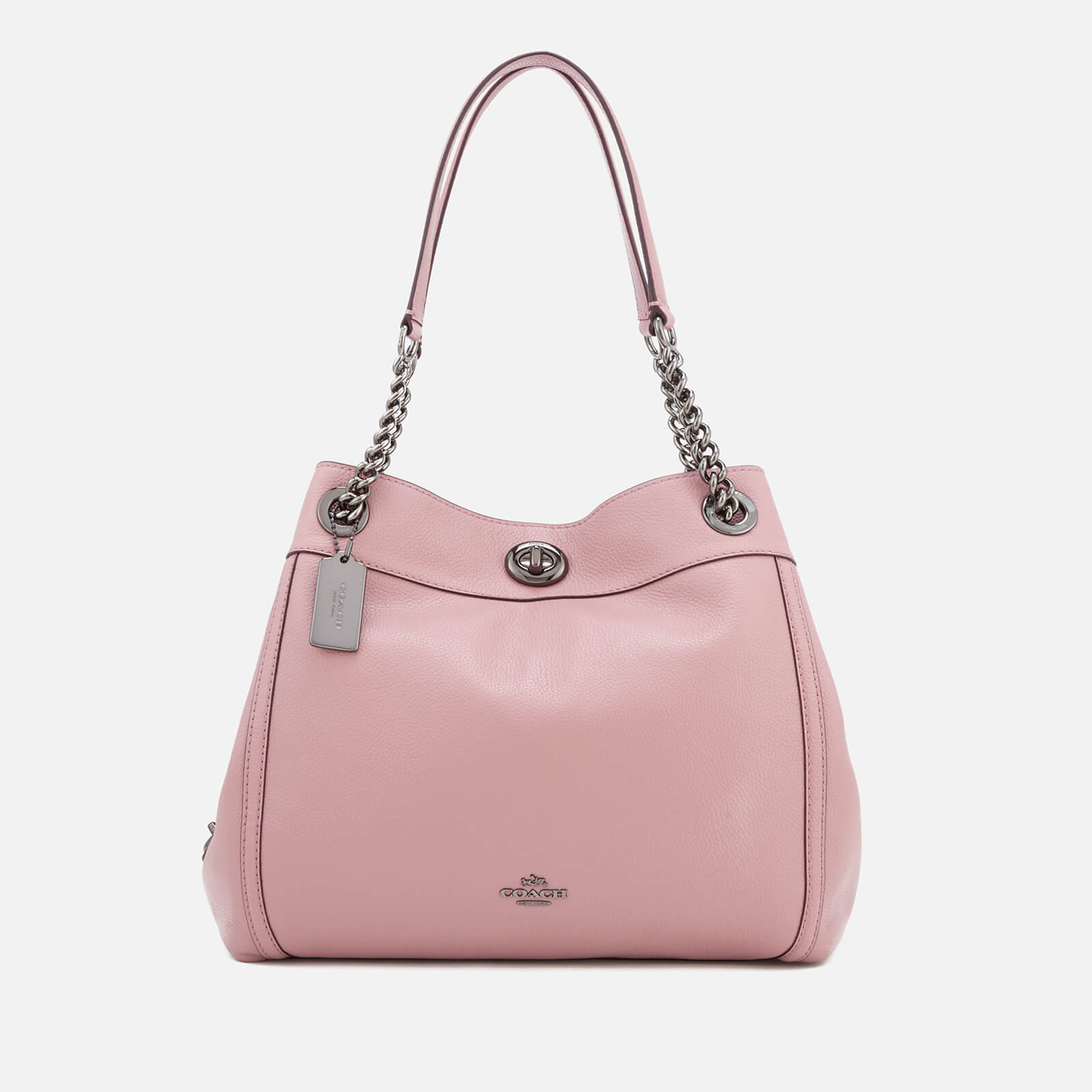Coach Women s Turnlock Edie Shoulder Bag - Dusty Rose - Free UK Delivery  over £50 ecf5f98f501ab