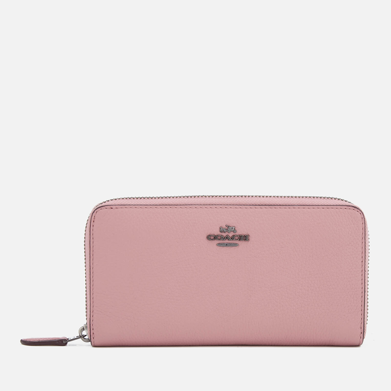 5072a262f Coach Women's Accordion Zip Purse - Dusty Rose - Free UK Delivery over £50