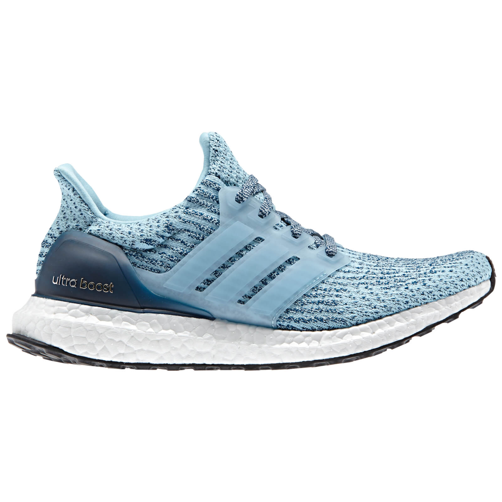 adidas Women's Ultra Boost Running Shoes in blue and grey