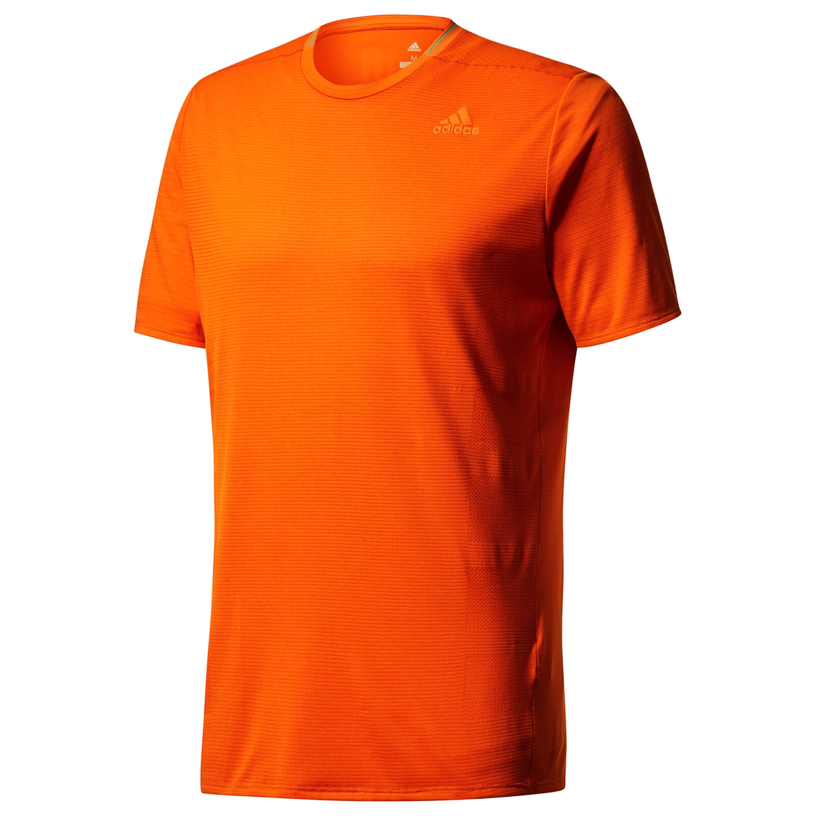 adidas Men's Supernova Running T Shirt Orange
