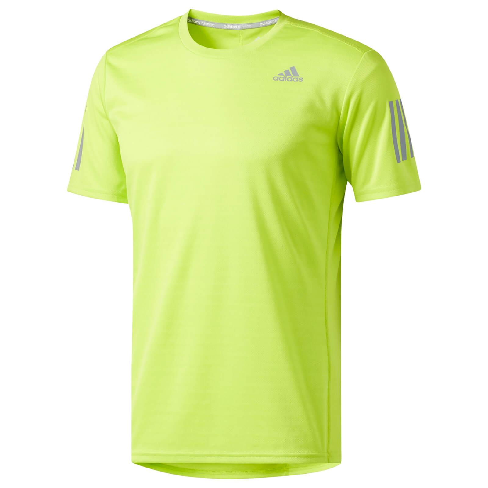 promo code c4d44 500a5 adidas Men s Supernova Running T-Shirt - Yellow Sports   Leisure    TheHut.com