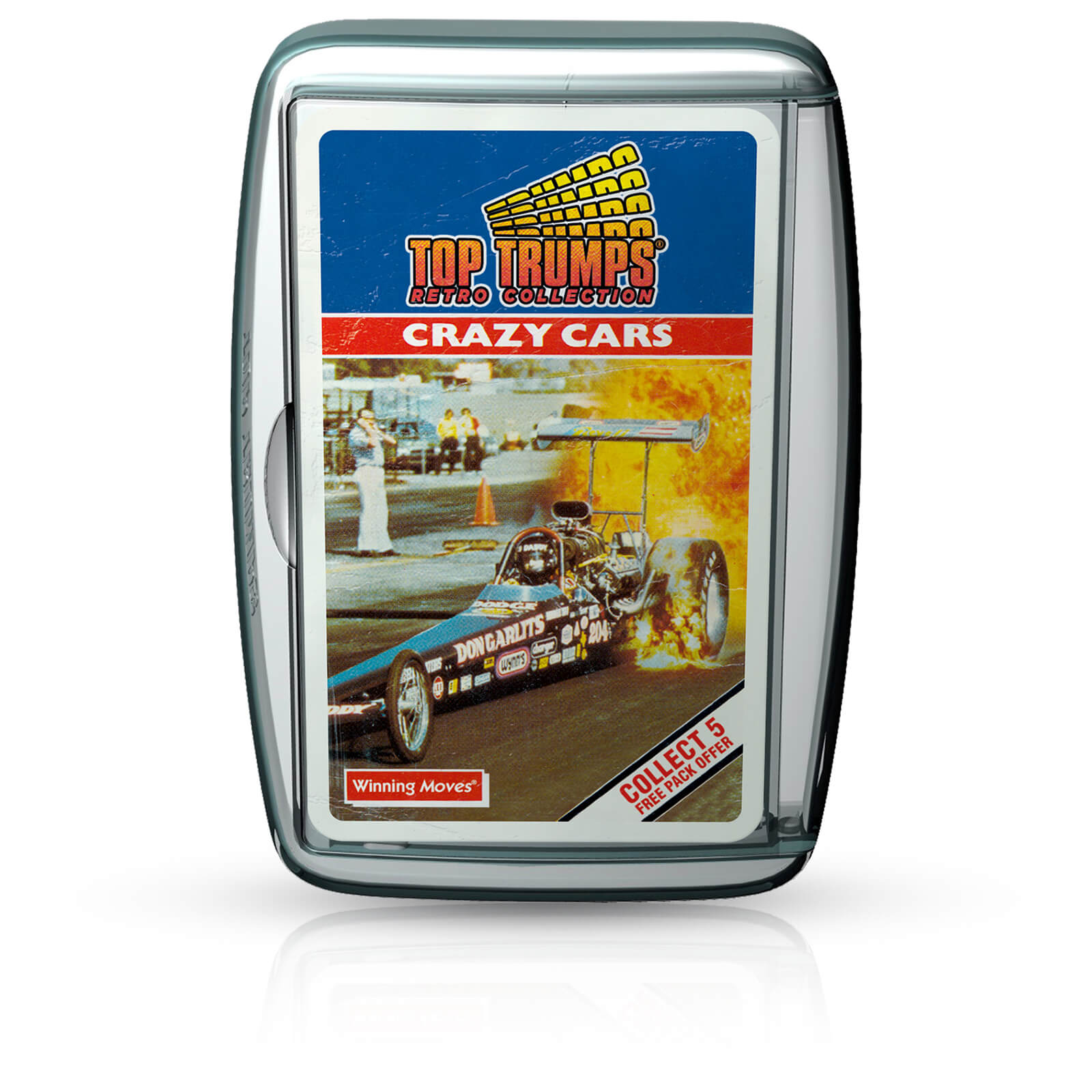 Retro Top Trumps - Crazy Cars