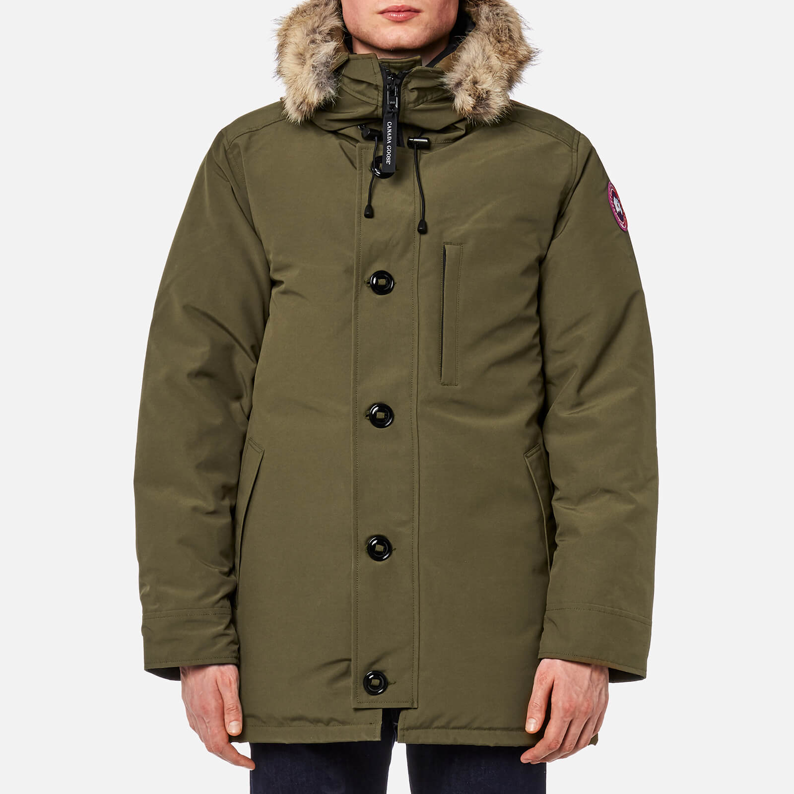 4c18620c932 Canada Goose Men's Chateau Parka - Military Green