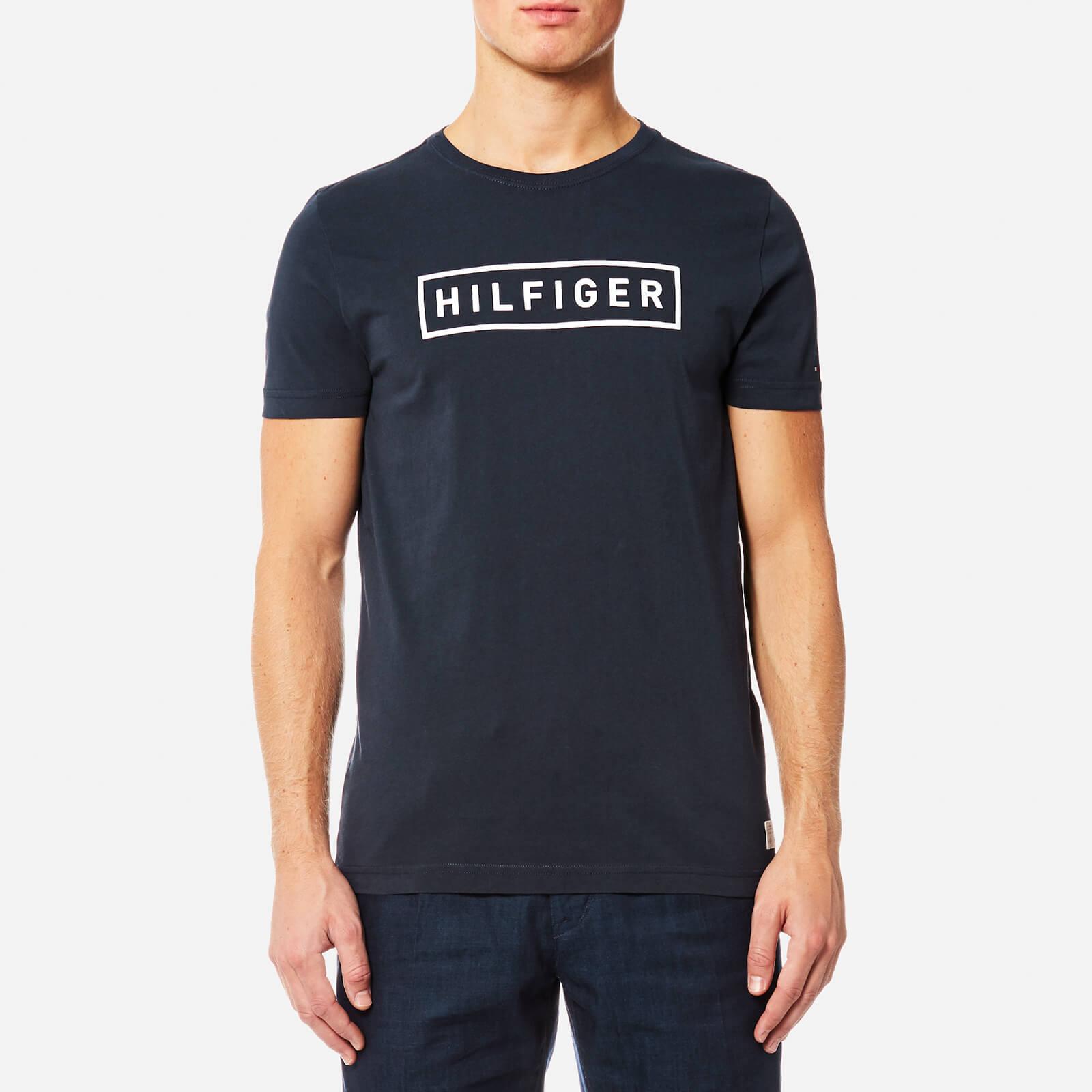 6a01c75a Tommy Hilfiger Men's Axel Crew Neck Short Sleeve T-Shirt - Sky Captain  Clothing | TheHut.com