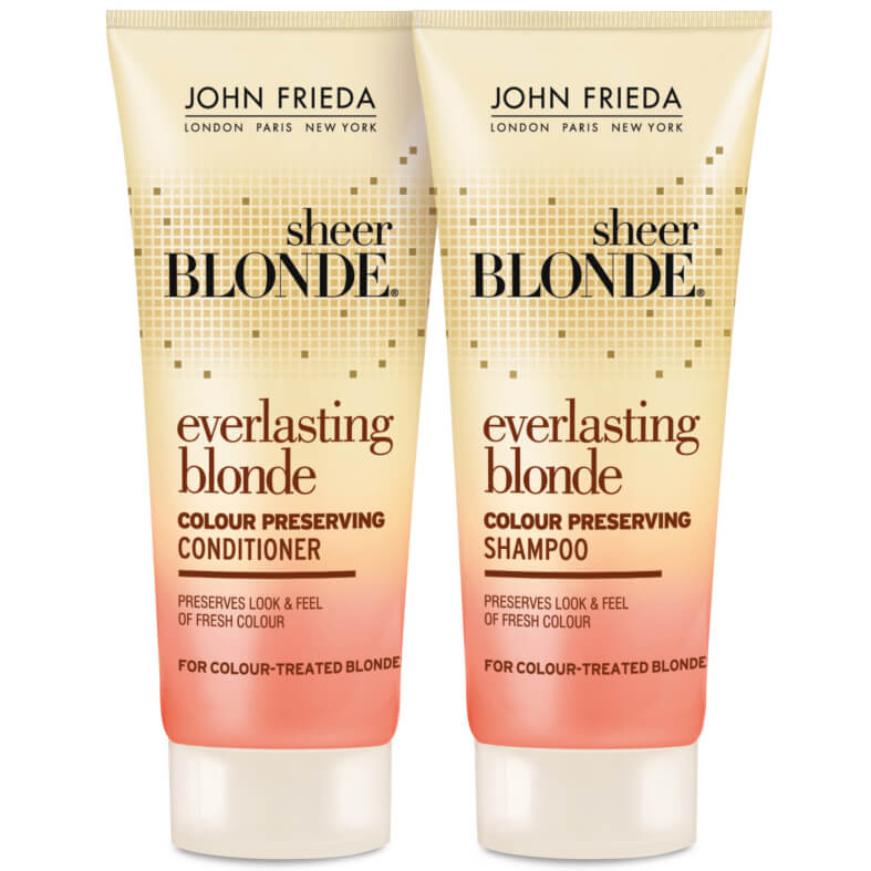 John Frieda Sheer Blonde Shampoo Conditioner