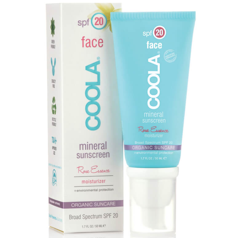 Coola Rose Essence Face Cream