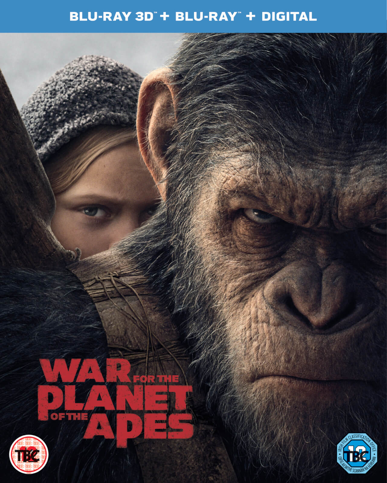War For The Planet Of The Apes 3D (Includes 2D Version) (Digital Download)