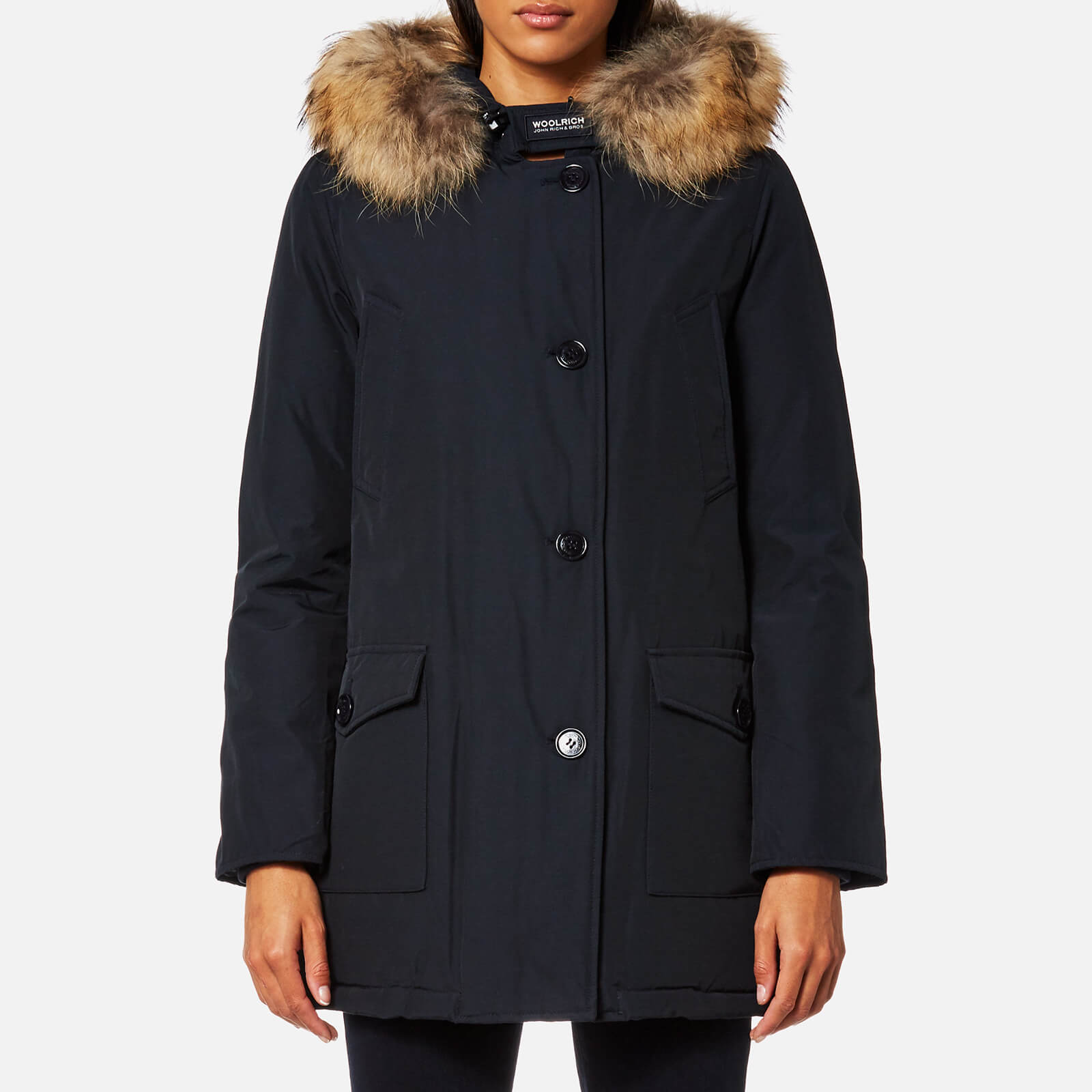 innovative design ae03b 6a750 Woolrich Women's Arctic Parka DF - Dark Navy
