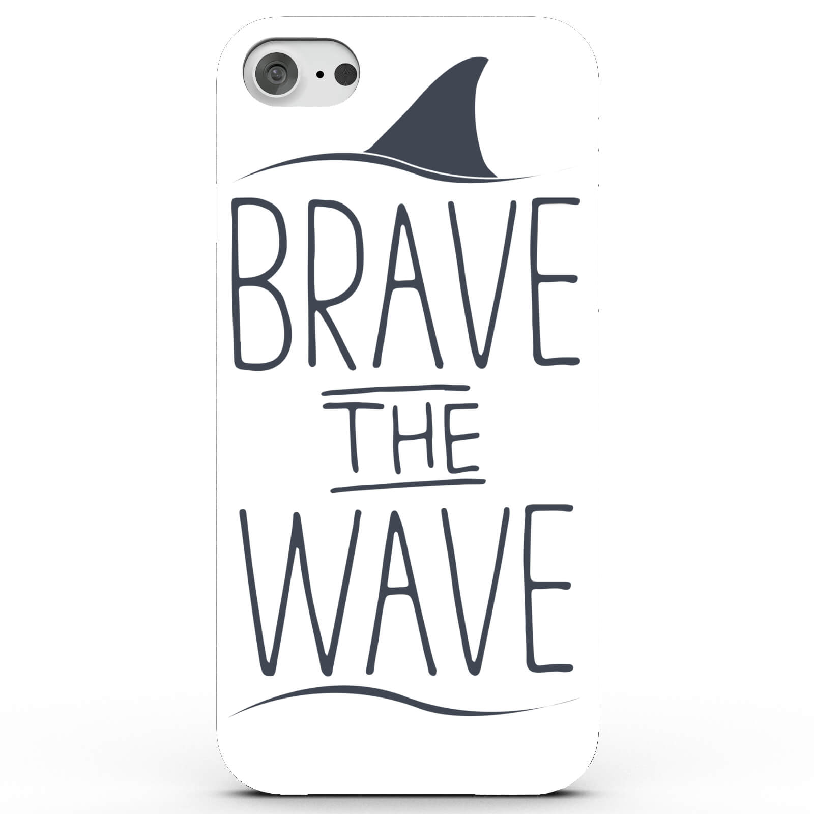 Coque iPhone & Android Requin Brave the Wave - 4 Couleurs