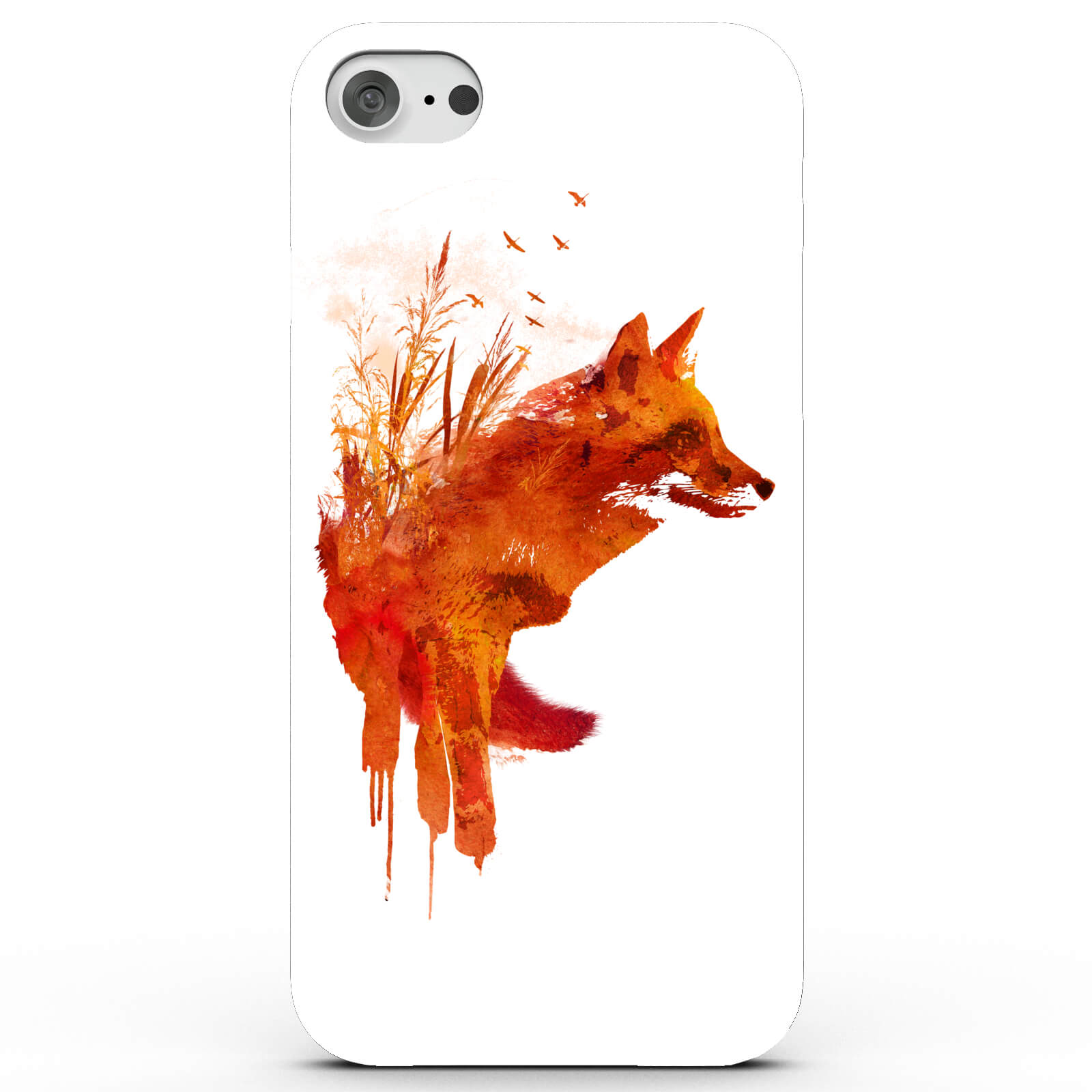 Coque iPhone & Android Renard - 4 Couleurs