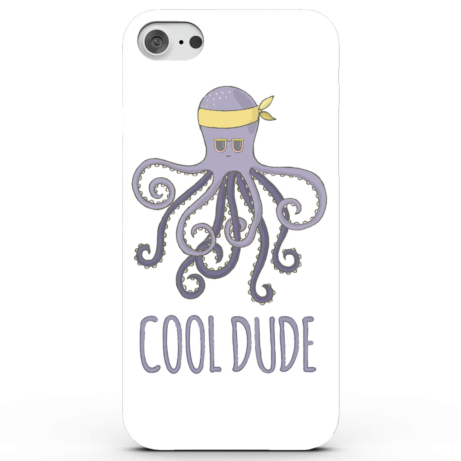 Cool Dude Octopus Phone Case for iPhone & Android - 4 Colours