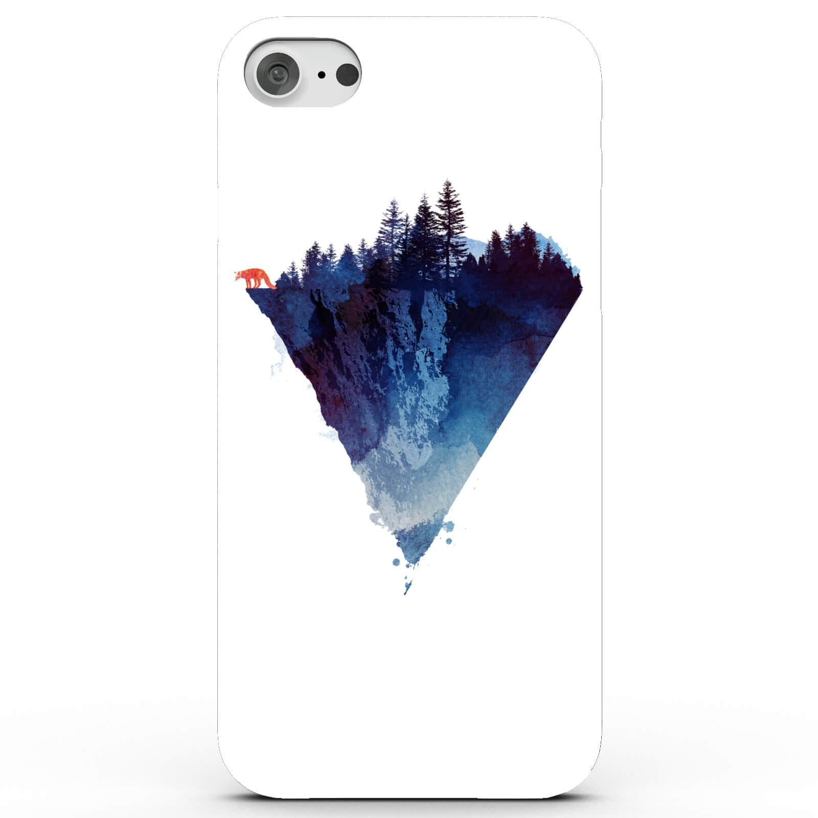 Fox On the Edge Phone Case for iPhone & Android - 4 Colours