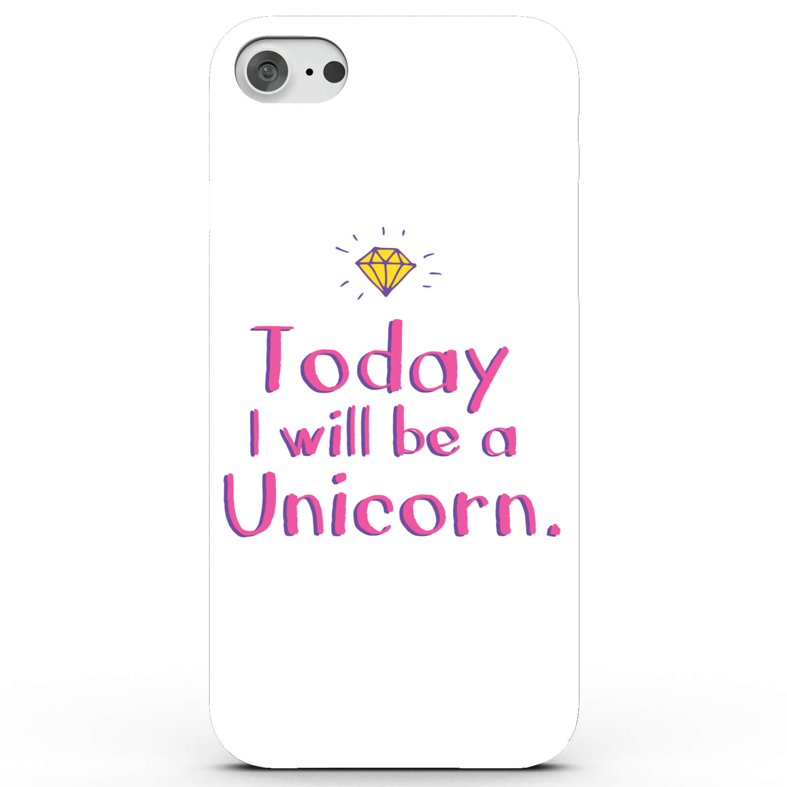 Today I Will Be a Unicorn Phone Case for iPhone & Android - 4 Colours