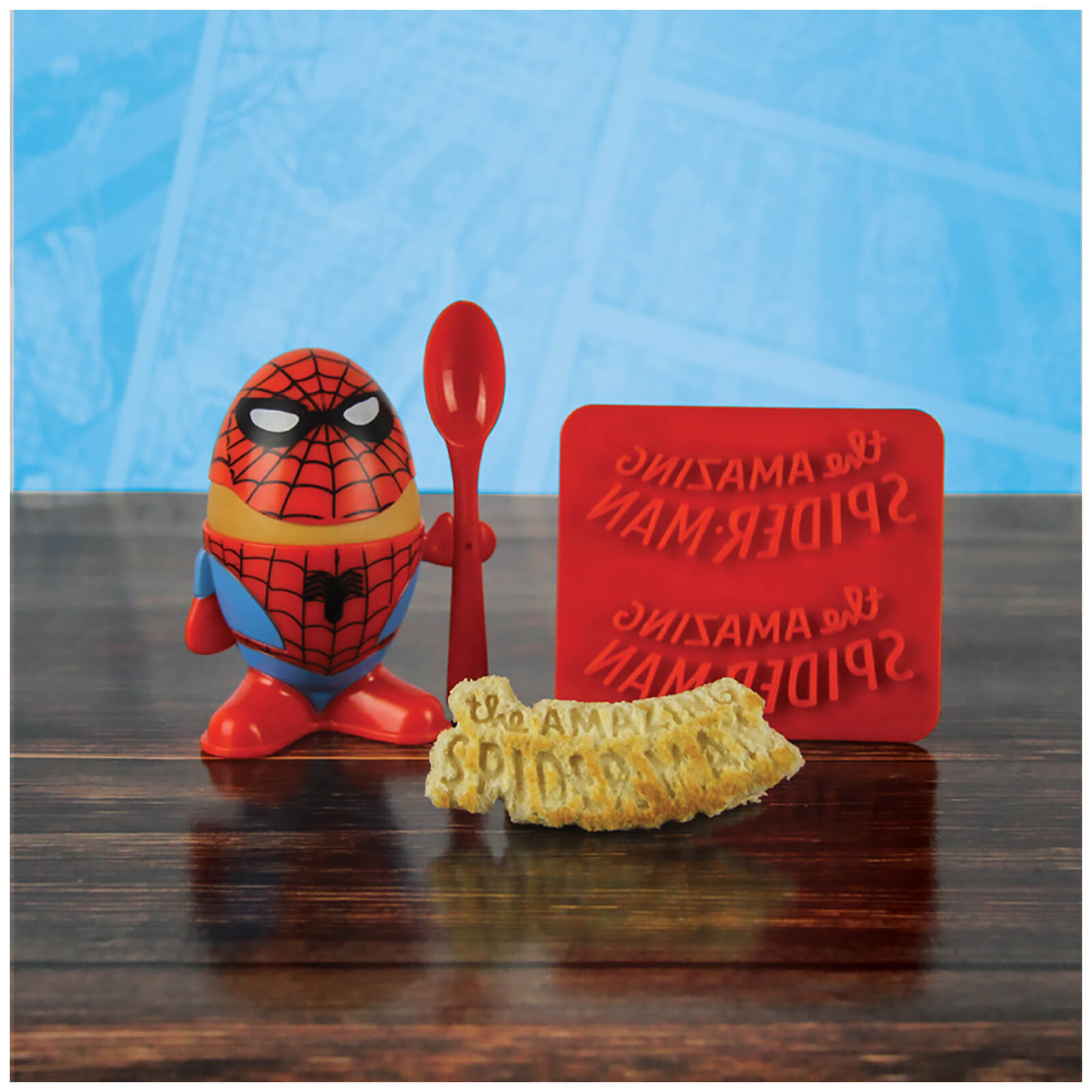 Marvel Comics Spider-Man Egg Cup