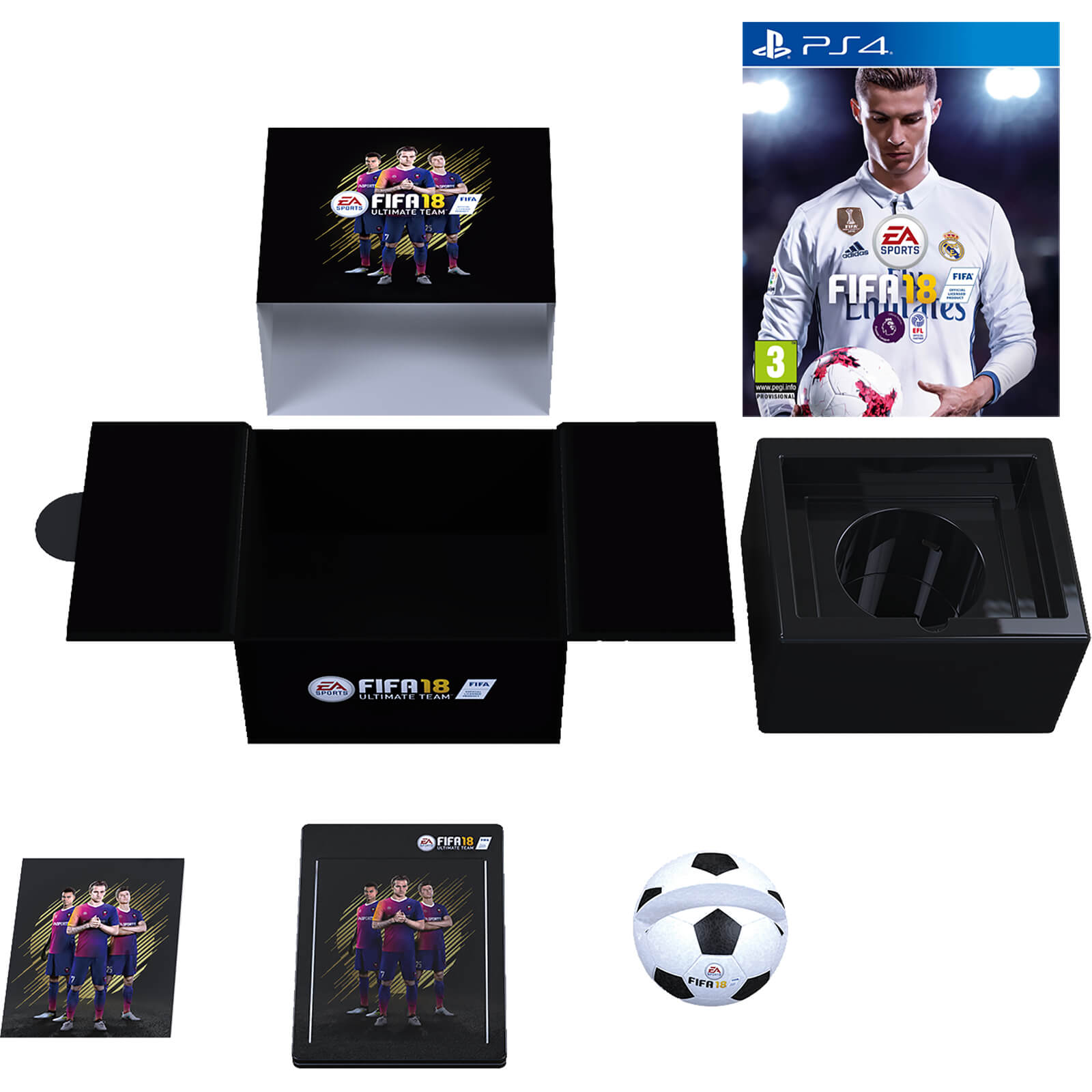 FIFA 18 Edición Coleccionista Exclusiva de Zavvi PS4  3cd0cb910575f