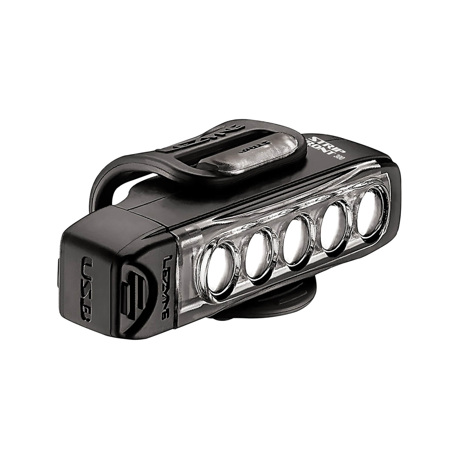 Lezyne Strip Drive 300 Front Light - Black
