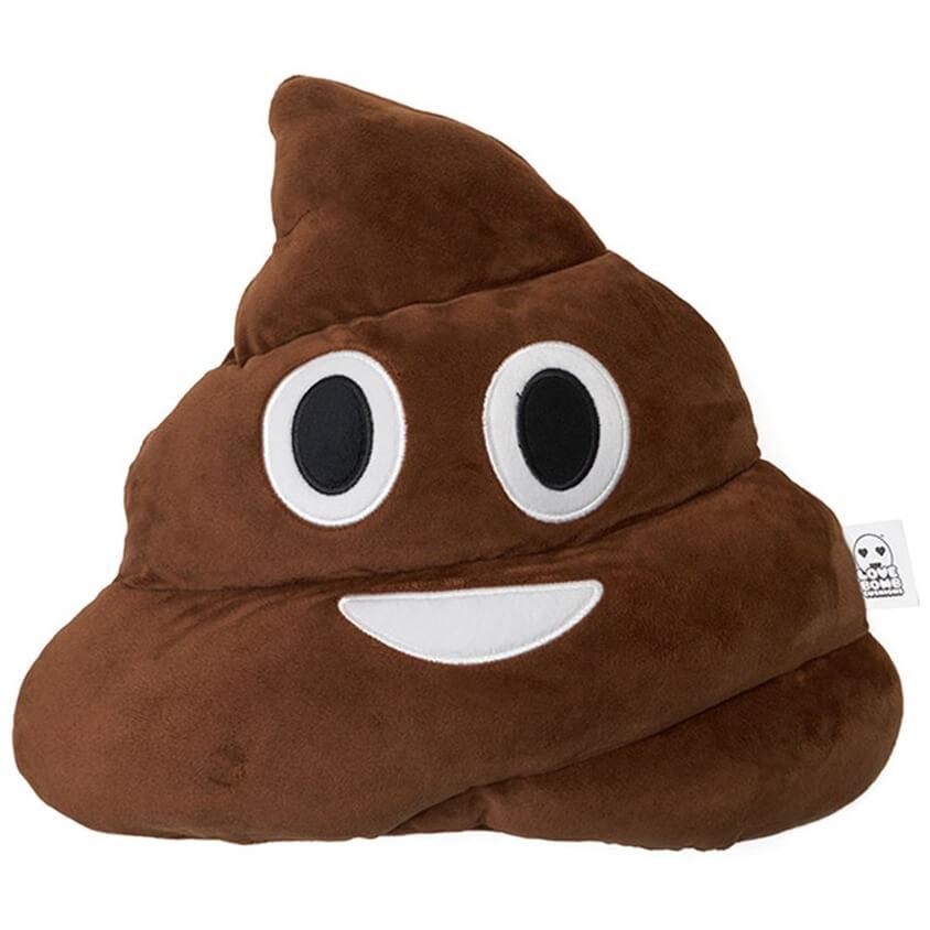 Emoji Cushion Poo Iwoot