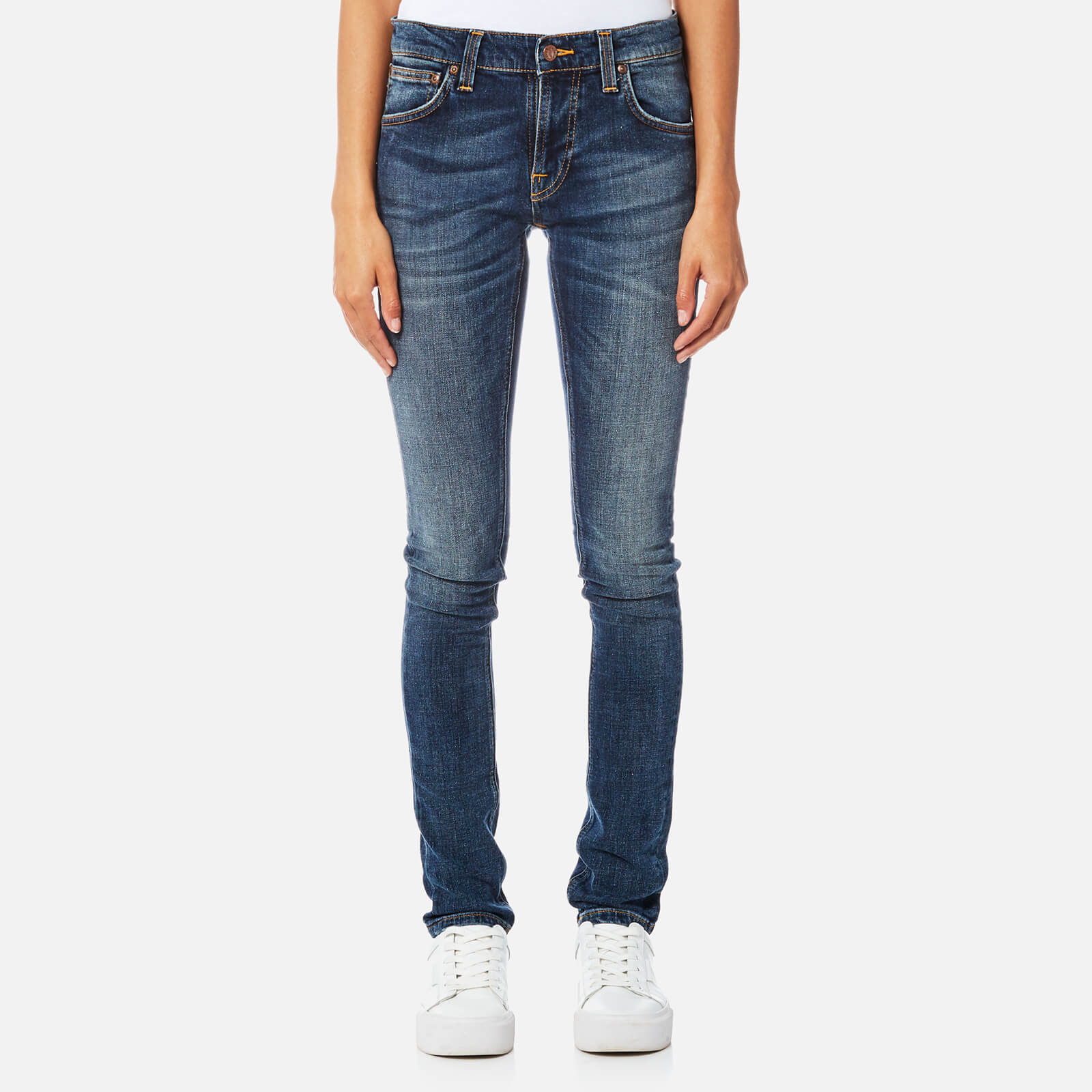 afbae8e3e2cf Nudie Jeans Women s Tight Terry Jeans - Double Indigo - Free UK Delivery  over £50