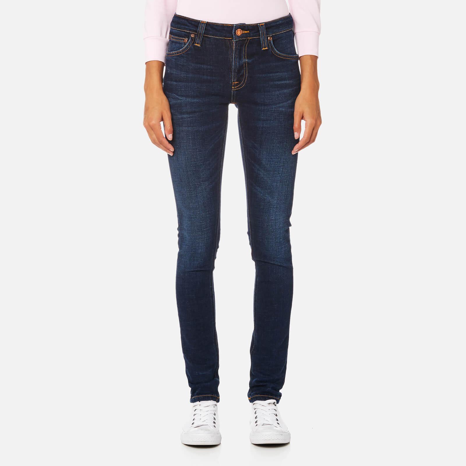 f8cf0de764ae Nudie Jeans Women s Skinny Lin Jeans - Dark Blue Authentic - Free UK ...