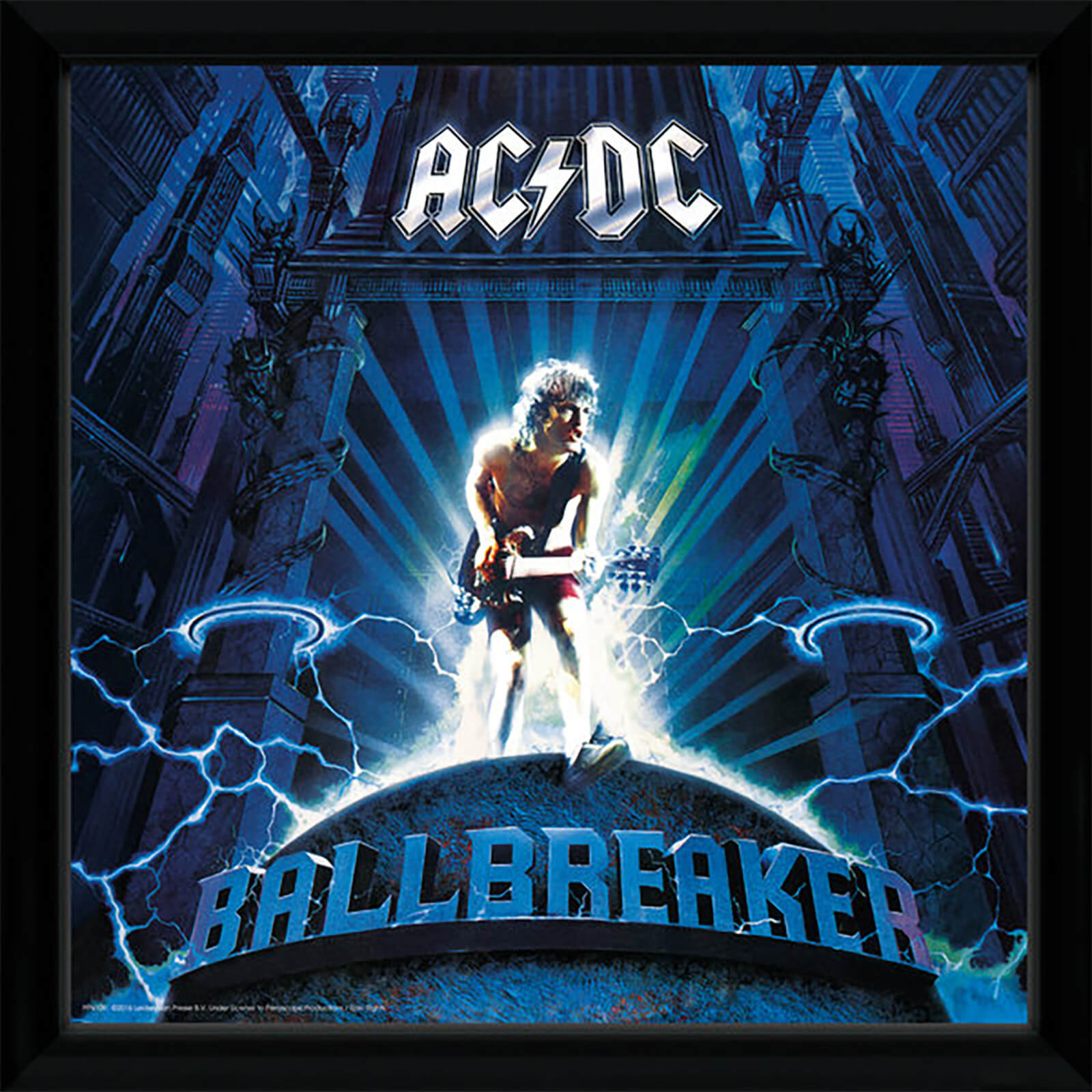 AC/DC Ballbreaker - 12 x 12 Inches Framed Album Print