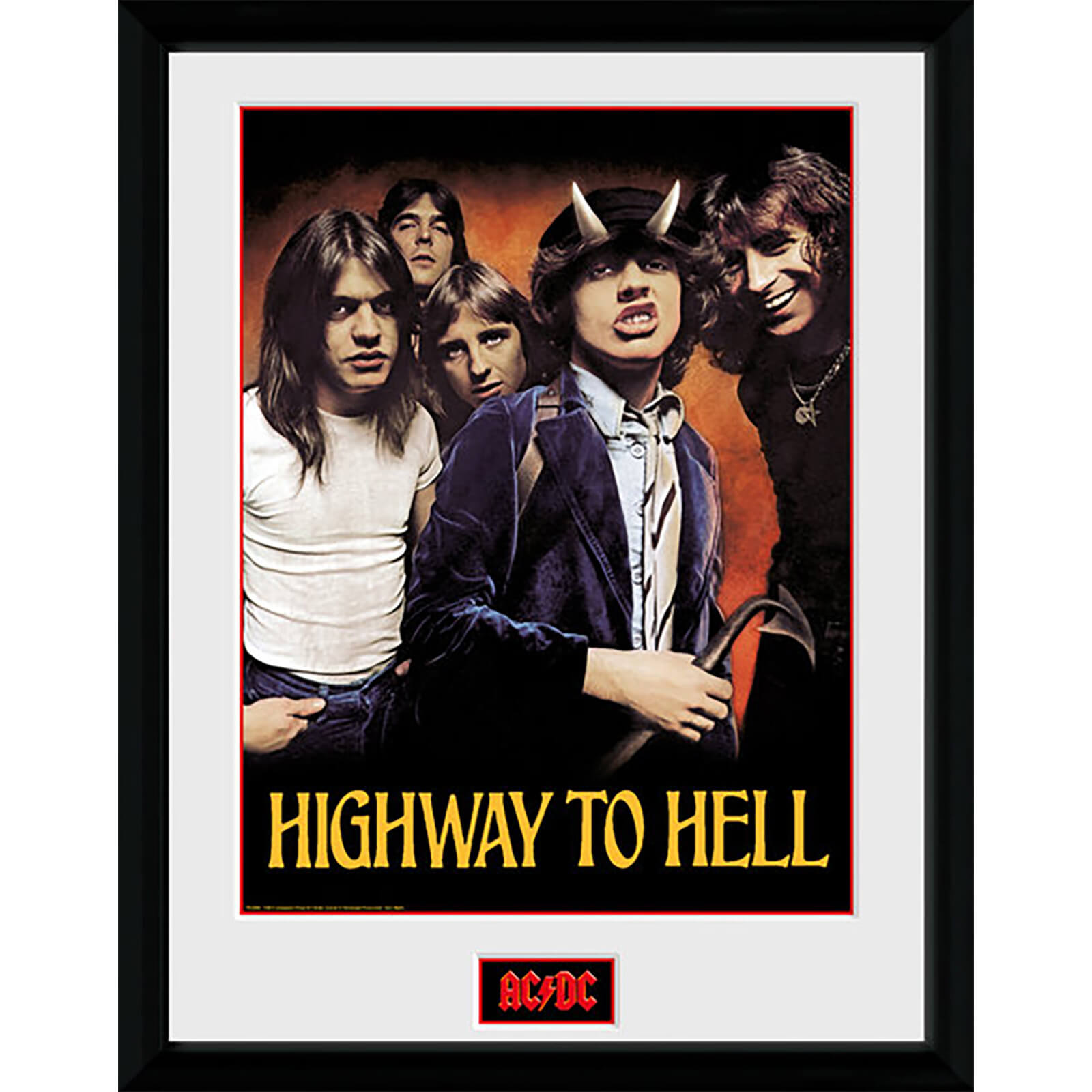 AC/DC Highway To Hell - 16 x 12 Inches Framed Photograph