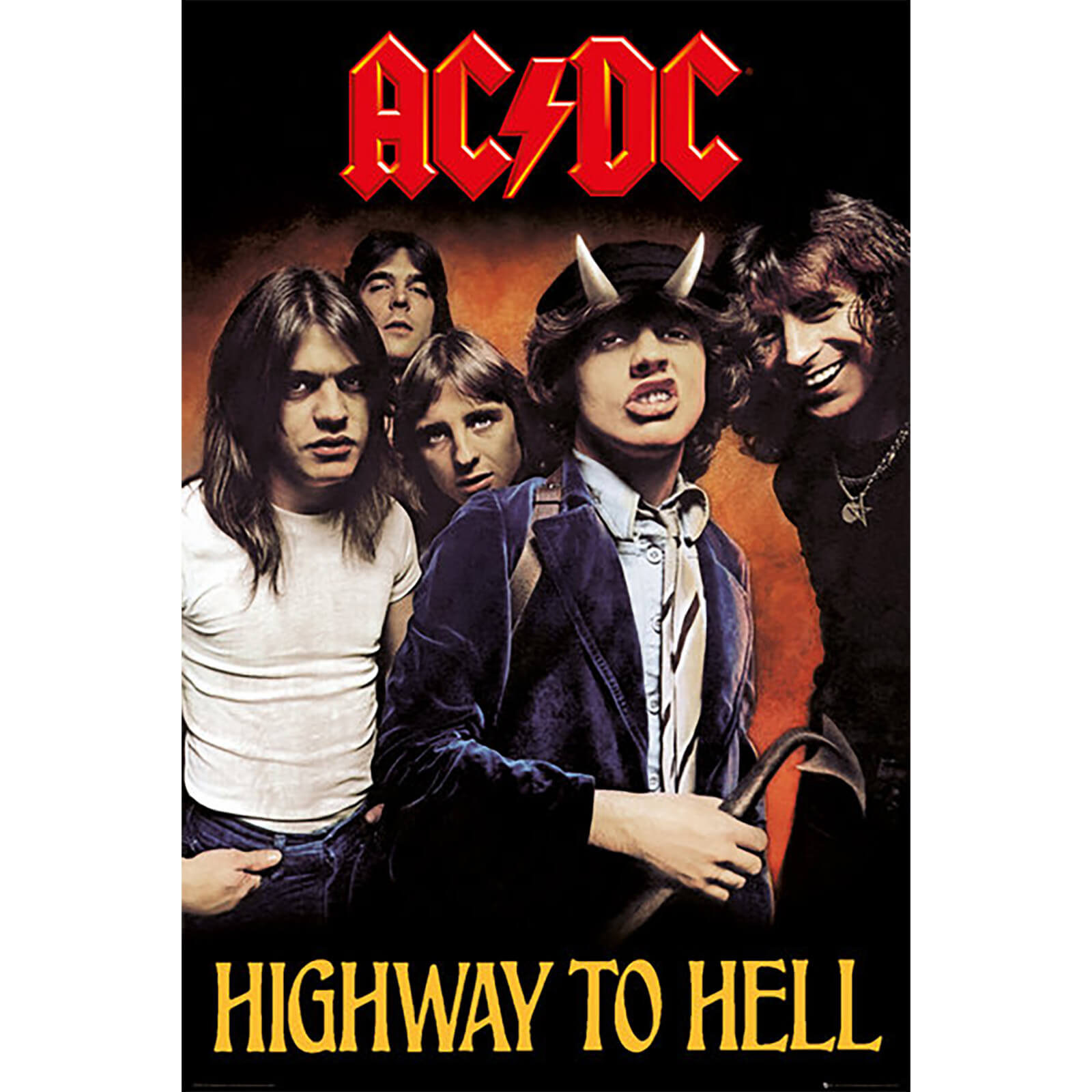 AC/DC Highway To Hell - 61 x 91.5cm Maxi Poster
