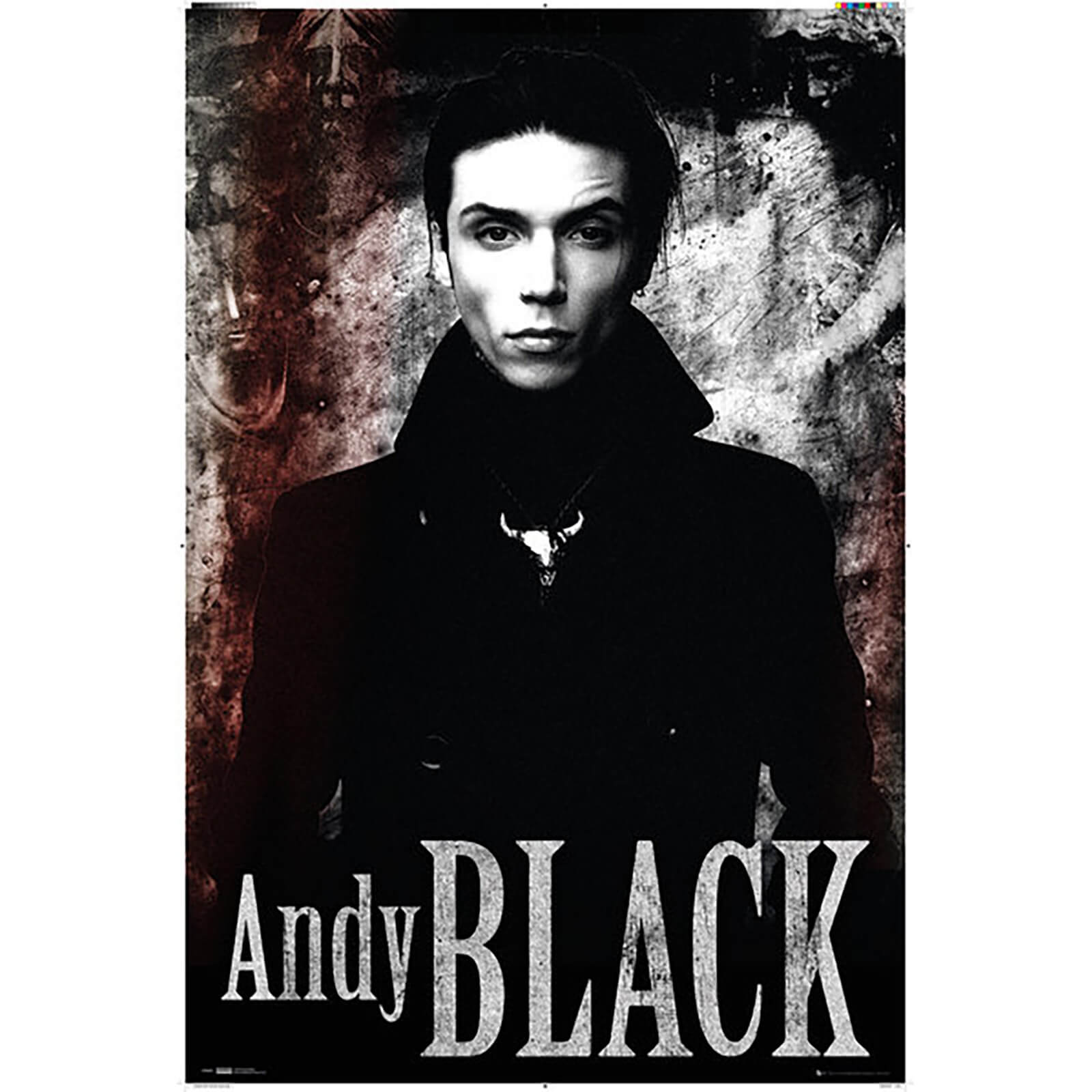 Andy Black Stone - 61 x 91.5cm Maxi Poster
