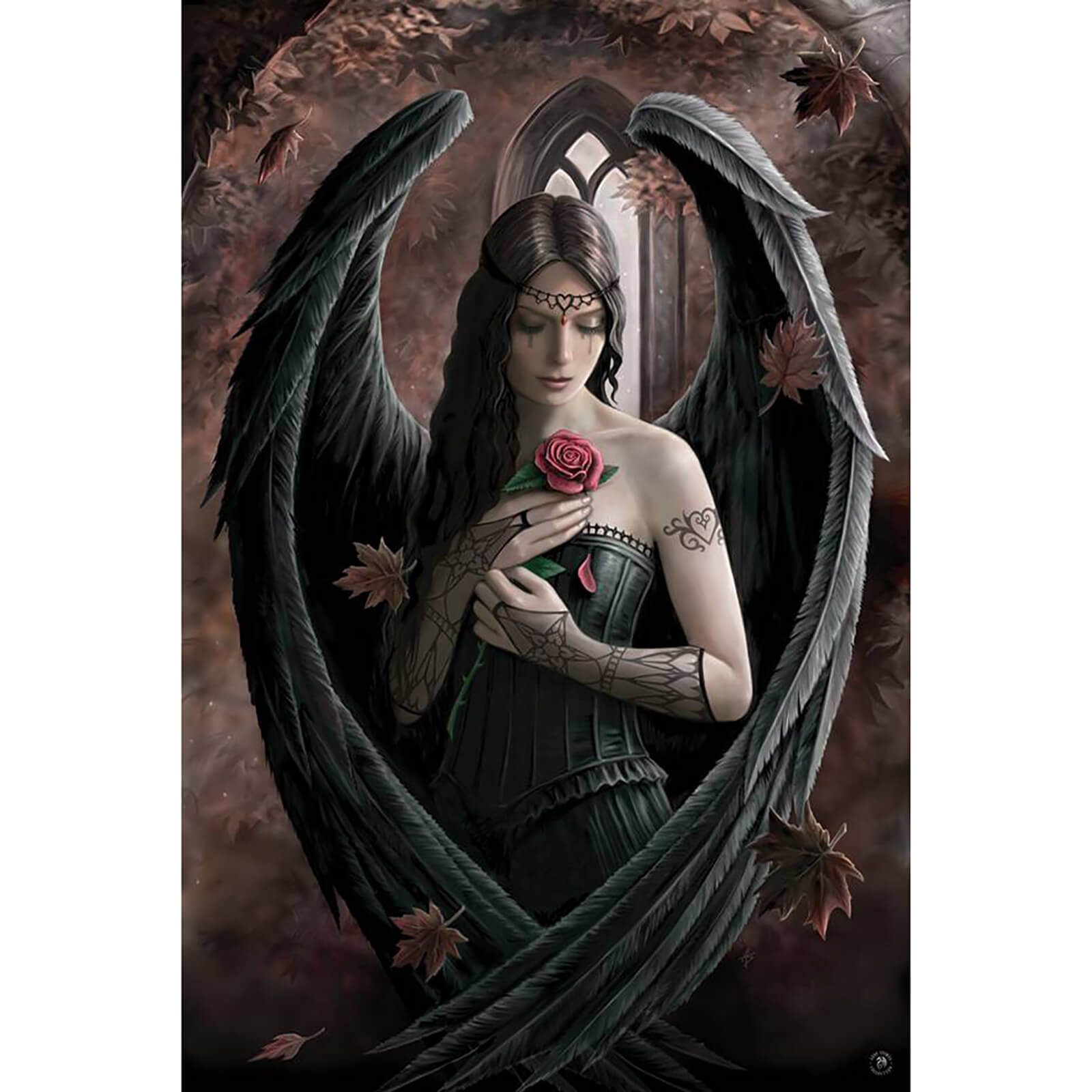Anne Stokes Angel Rose - 61 x 91.5cm Maxi Poster