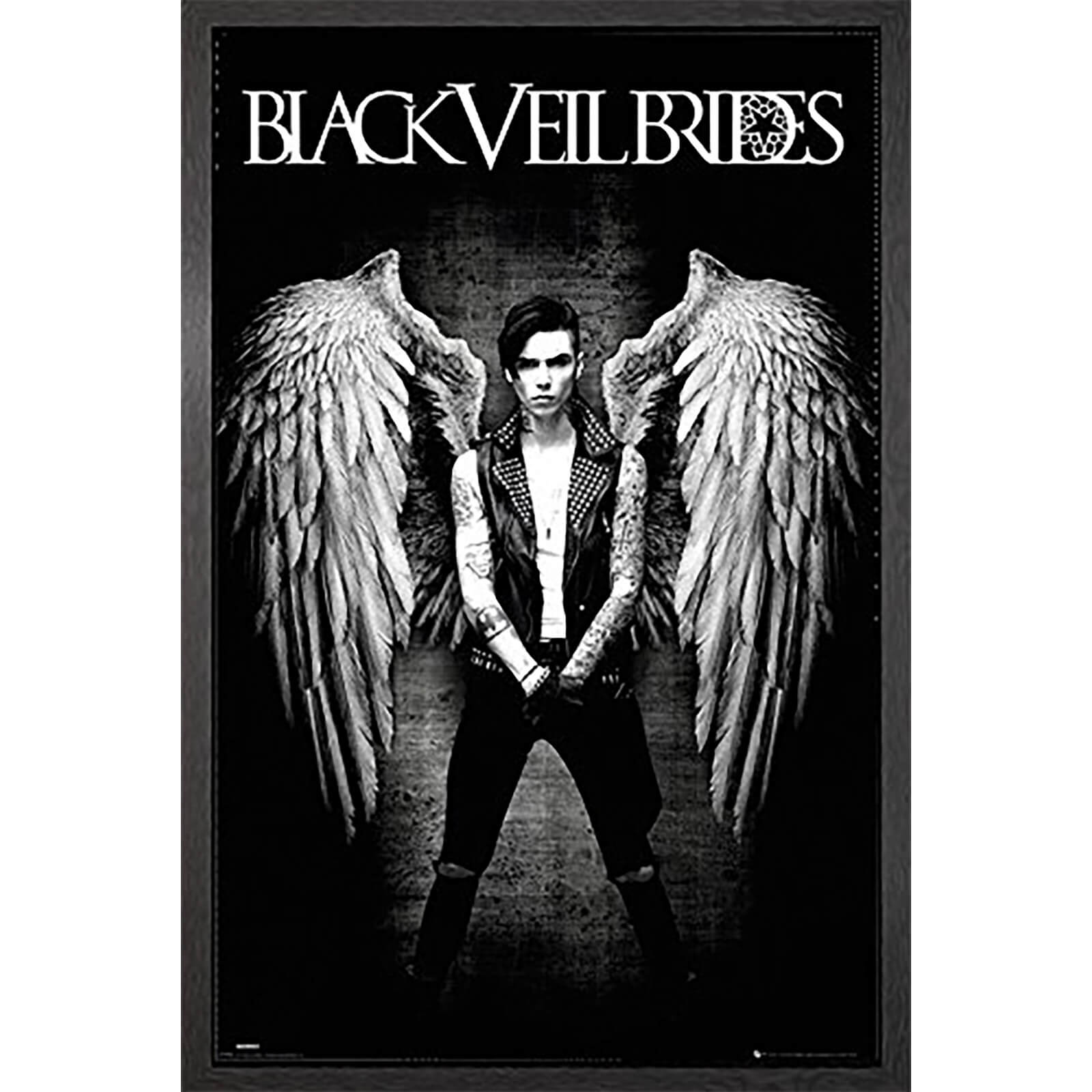 Black Veil Brides Fallen Angel - 61 x 91.5cm Framed Maxi Poster