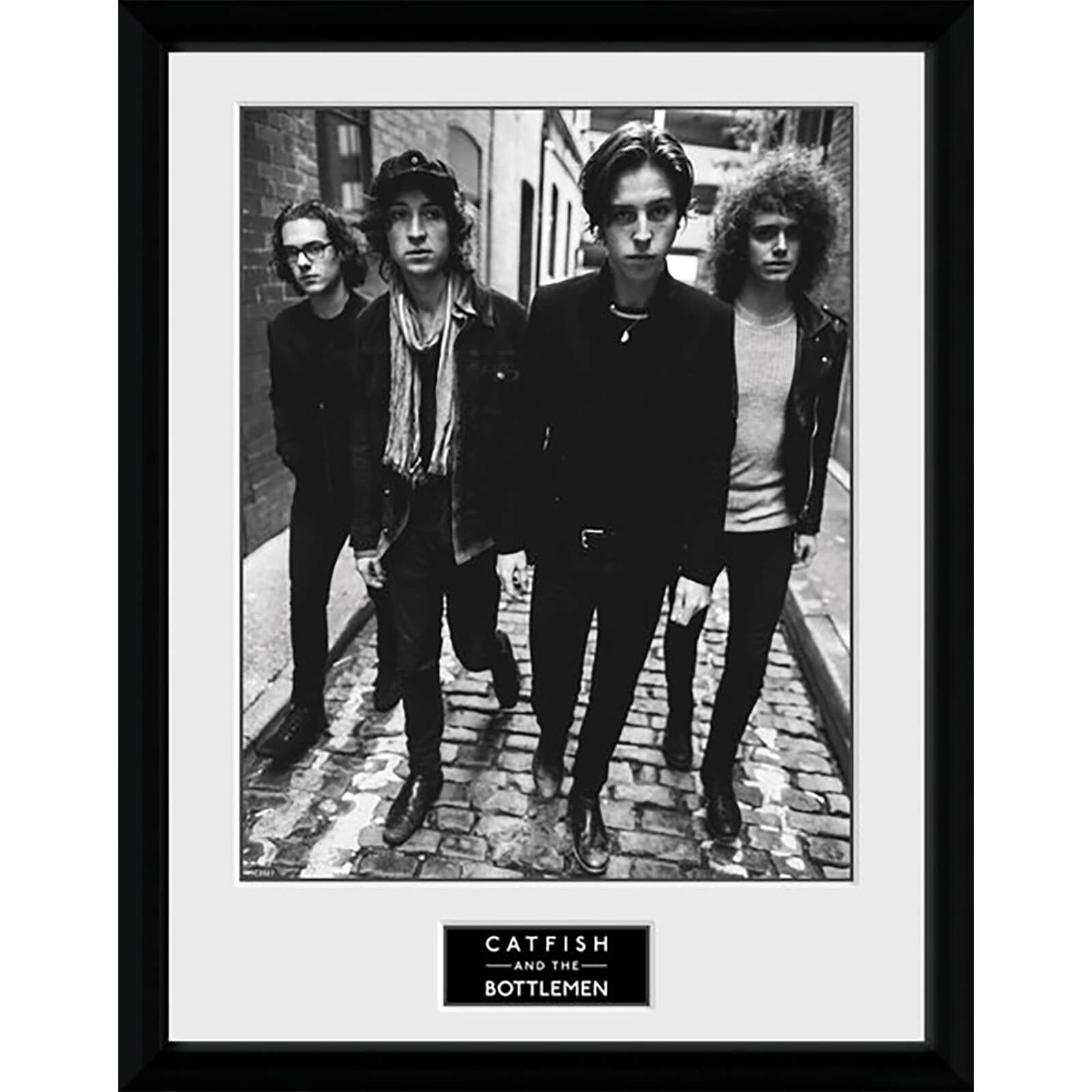 Catfish and the Bottlemen Band - 16 x 12 Inches Framed Photograph