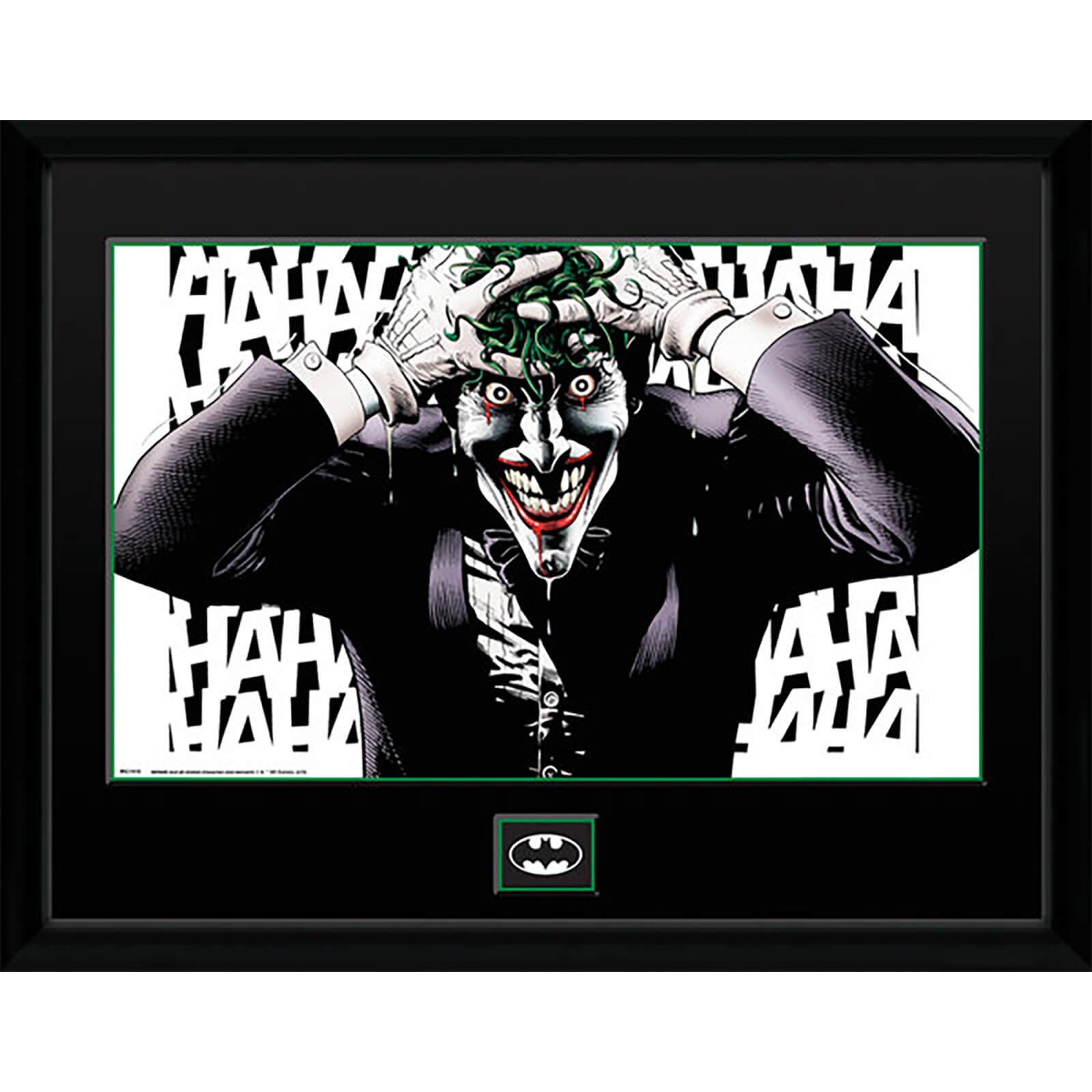 DC Comics Killing Joke - 16 x 12 Inches Framed Photograph