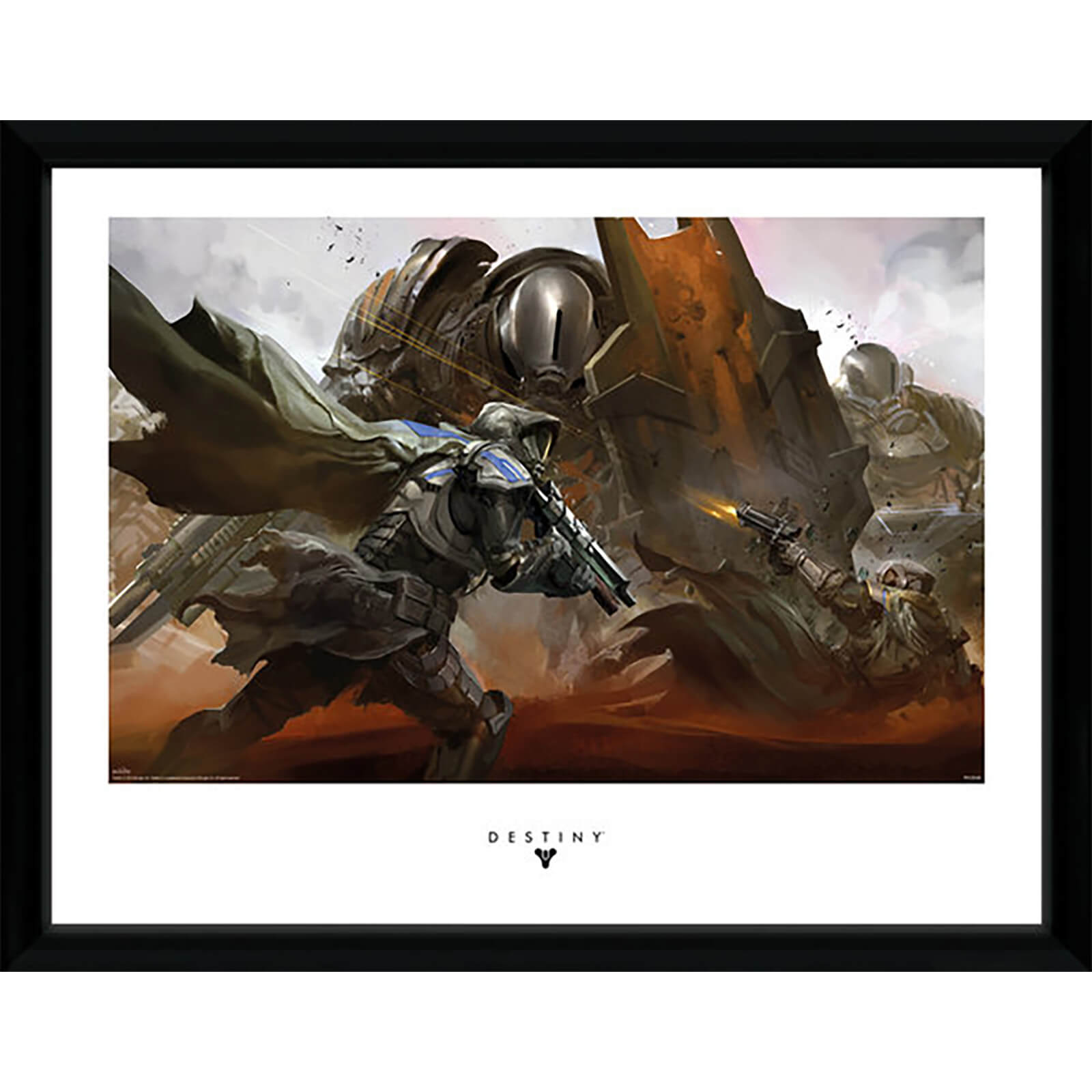 Destiny Cabal Battle - 16 x 12 Inches Framed Photograph