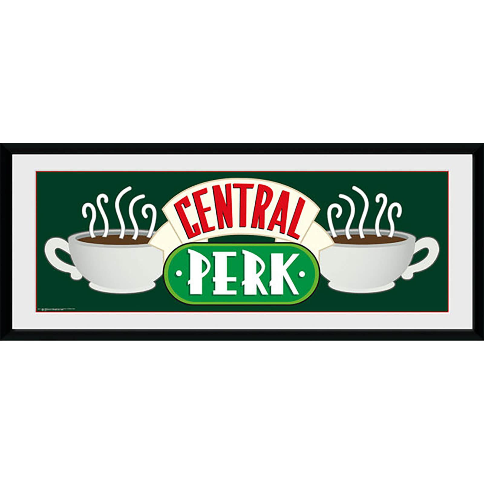 Friends Central Perk - 30 x 12 Inches Framed Photograph