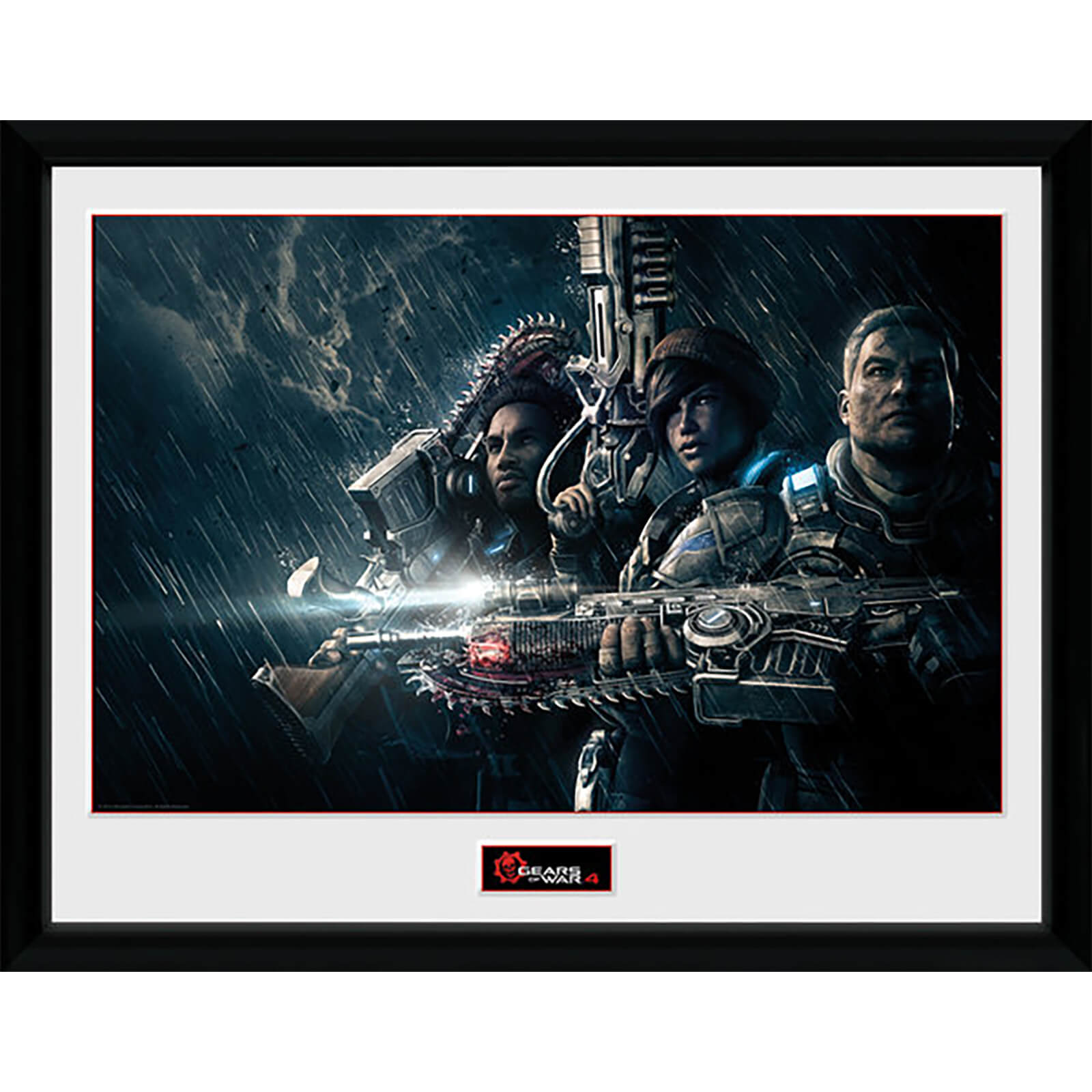Gears of War 4 Landscape - 16 x 12 Inches Framed Photograph