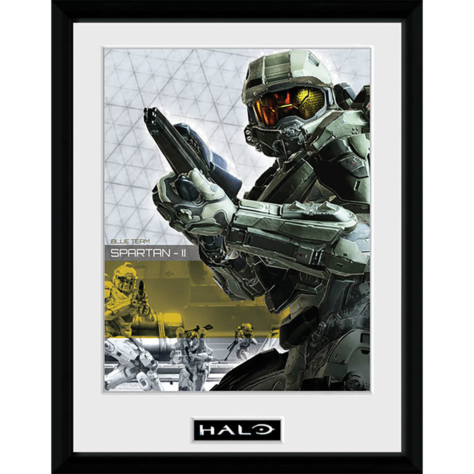 Halo Spartan - 16 x 12 Inches Framed Photograph