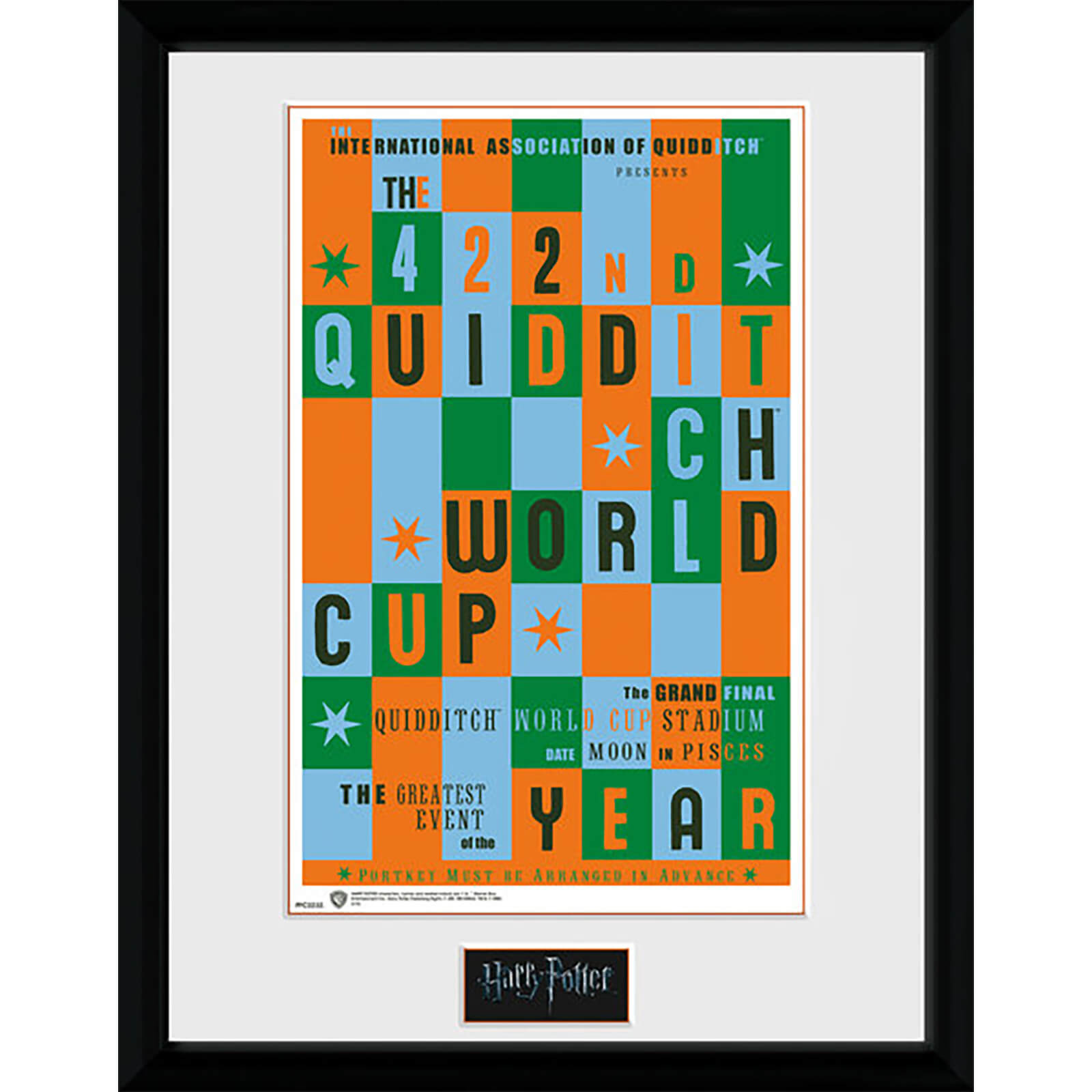 Harry Potter Quidditch World Cup - 16 x 12 Inches Framed Photograph