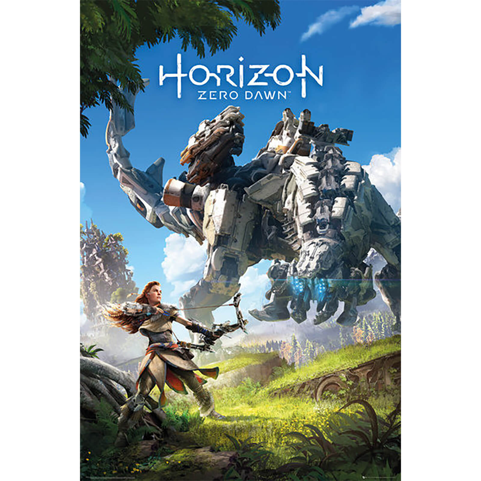Horizon Zero Dawn Key Art - 61 x 91.5cm Maxi Poster