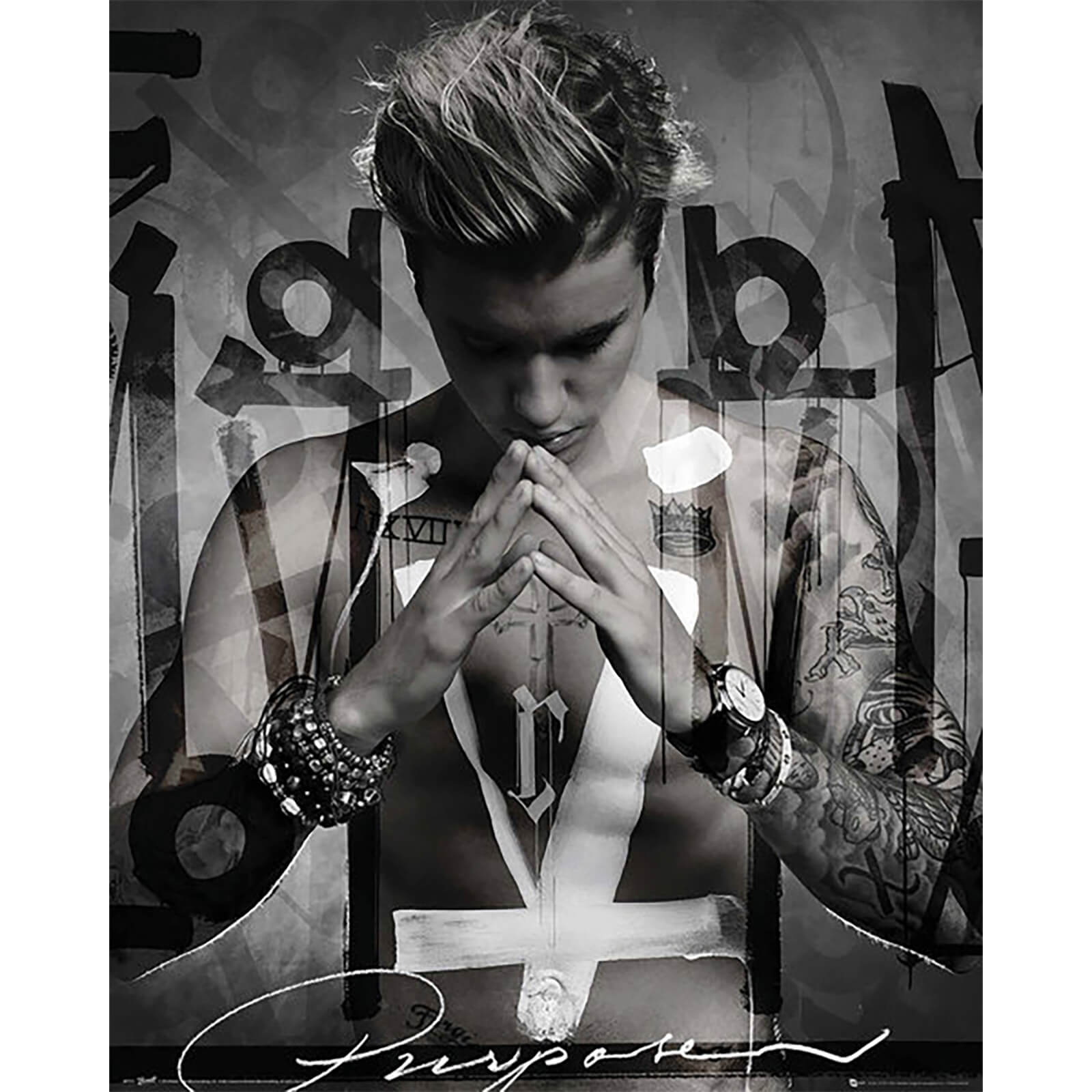 Justin Bieber Purpose - 40 x 50cm Mini Poster