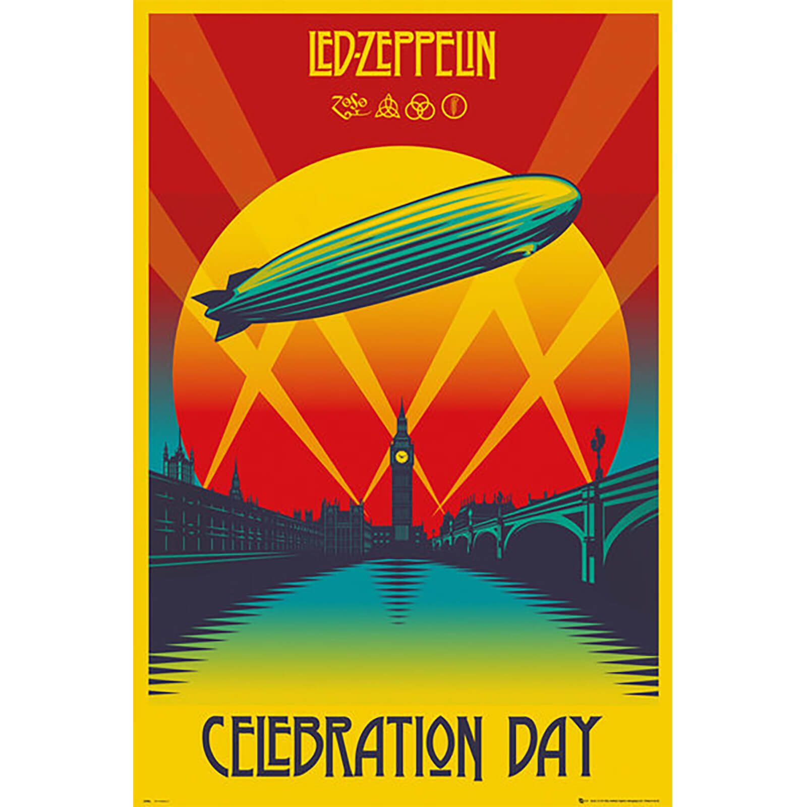 Led Zeppelin Celebration Day - 61 x 91.5cm Maxi Poster