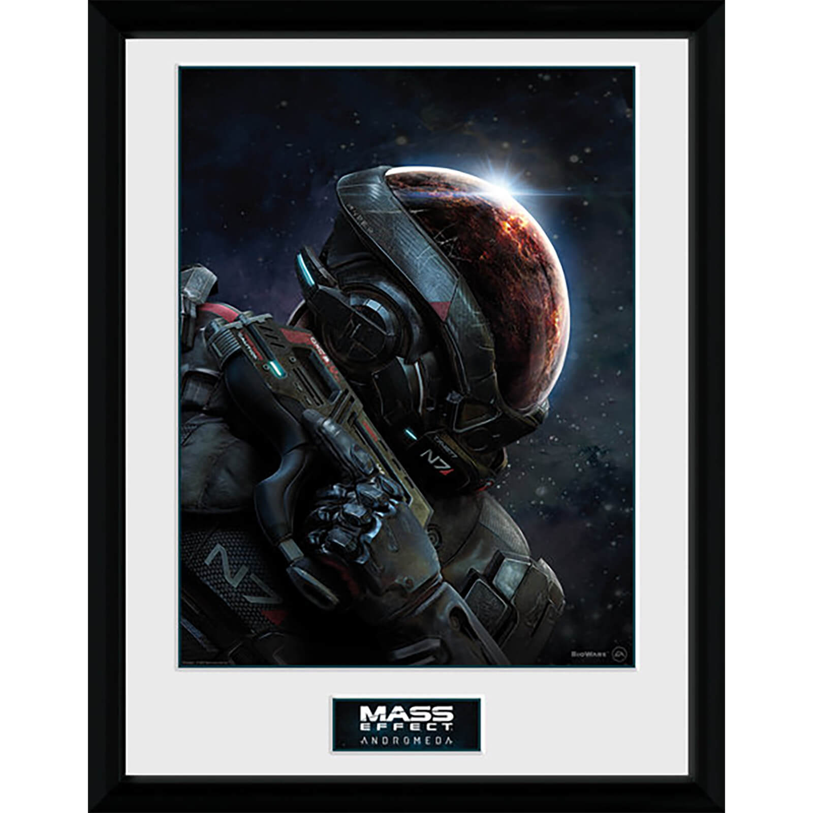 Mass Effect: Andromeda Key Art - 16 x 12 Inches Framed Photograph