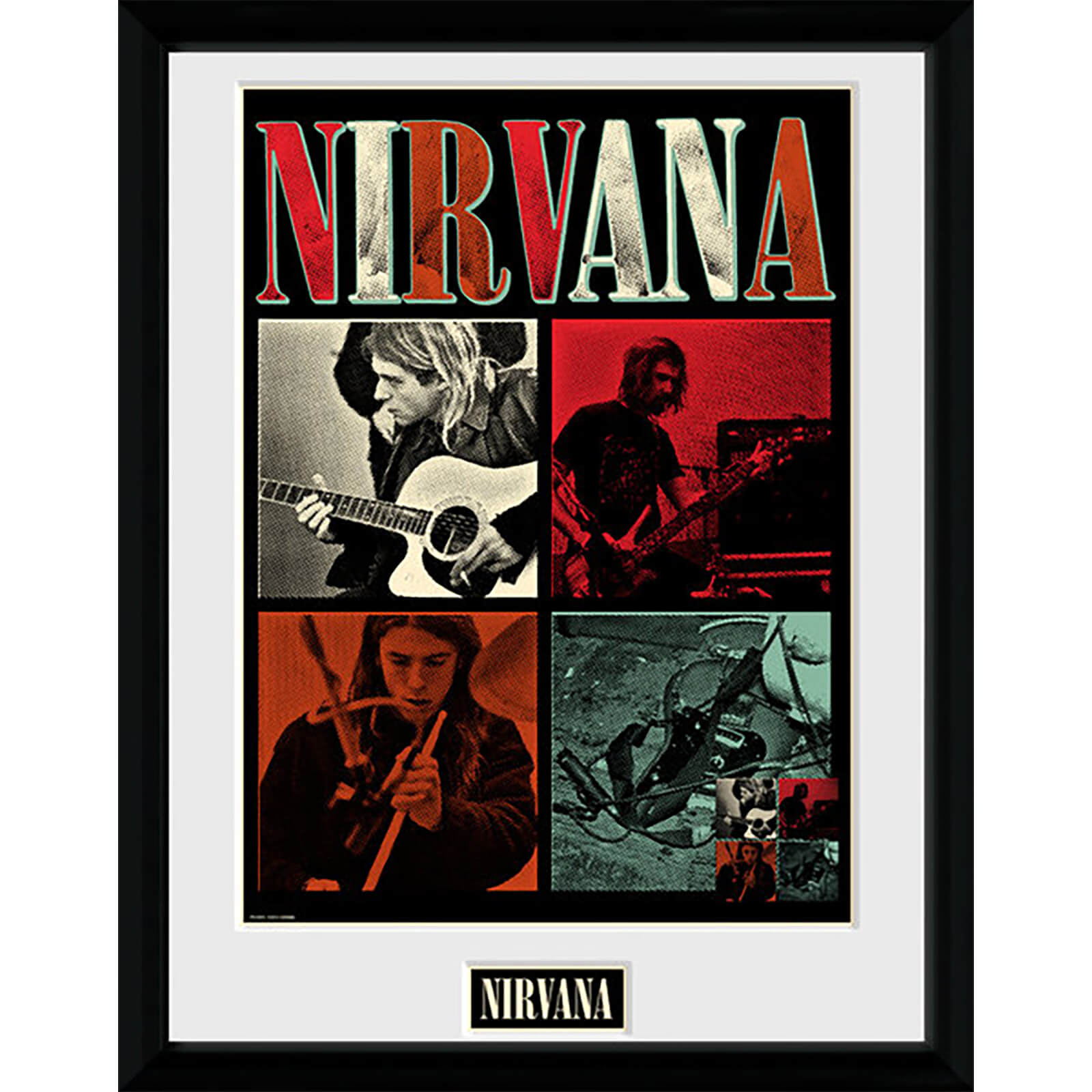 Nirvana Squares - 16 x 12 Inches Framed Photograph