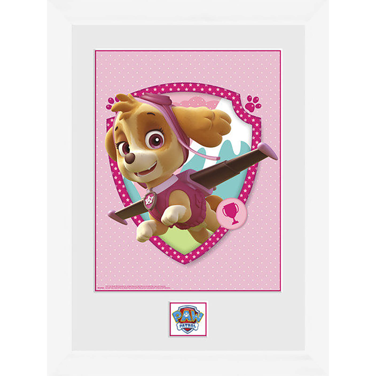 Paw Patrol Syke - 16 x 12 Inches Framed Photograph