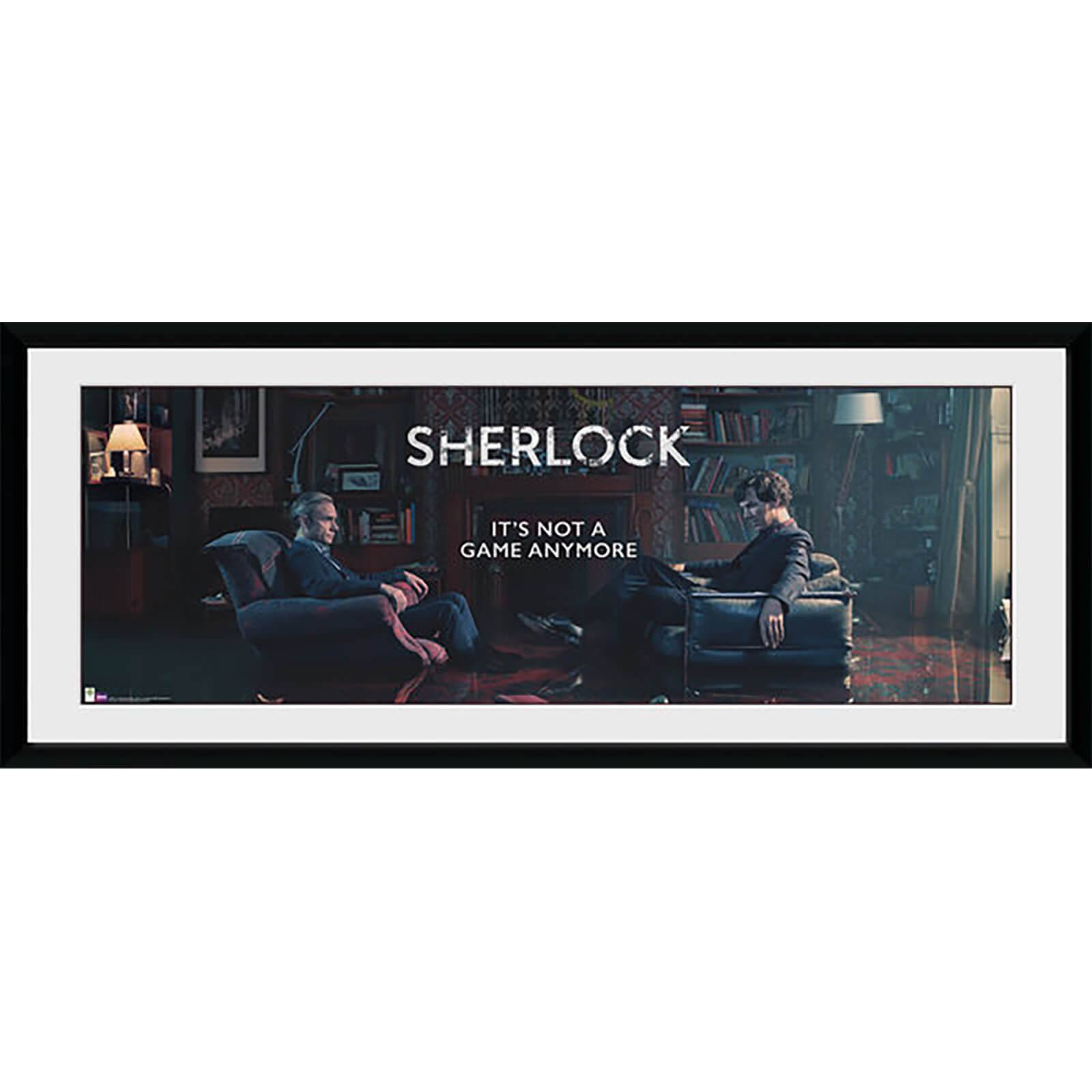 Sherlock Rising Tide - 30 x 12 Inches Framed Photograph