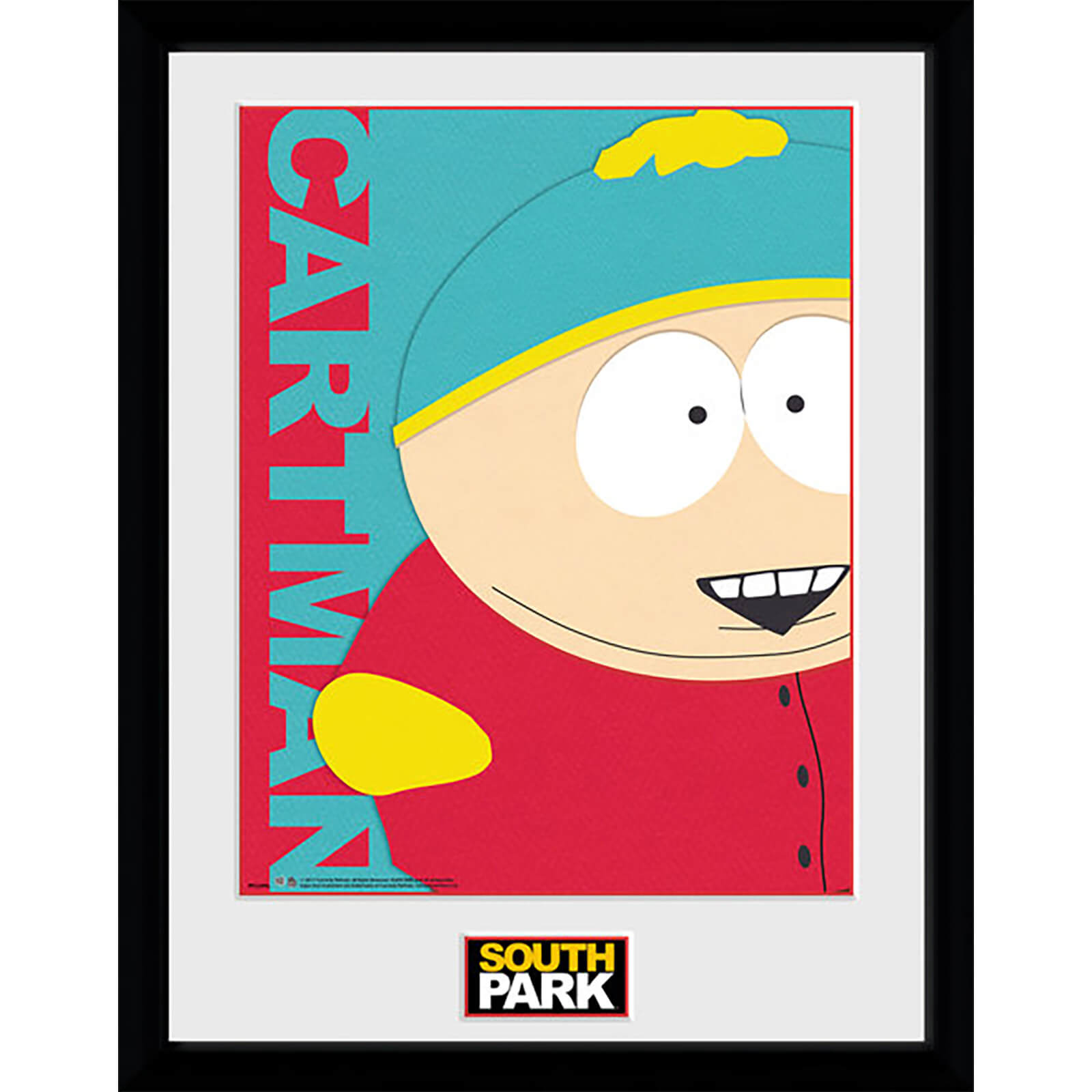 South Park Cartman - 16 x 12 Inches Framed Photograph