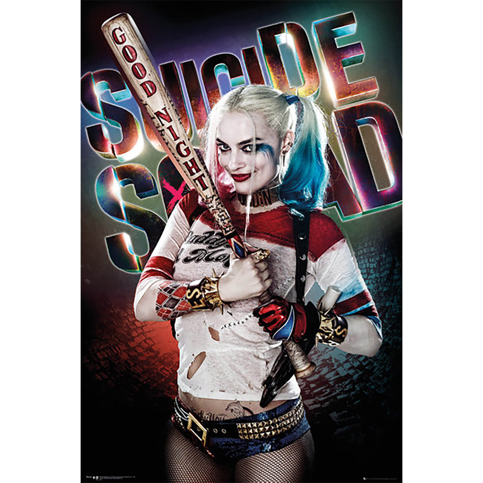 Frame Suicide Squad Harley Quinn Stand Maxi Poster Poster Print Art