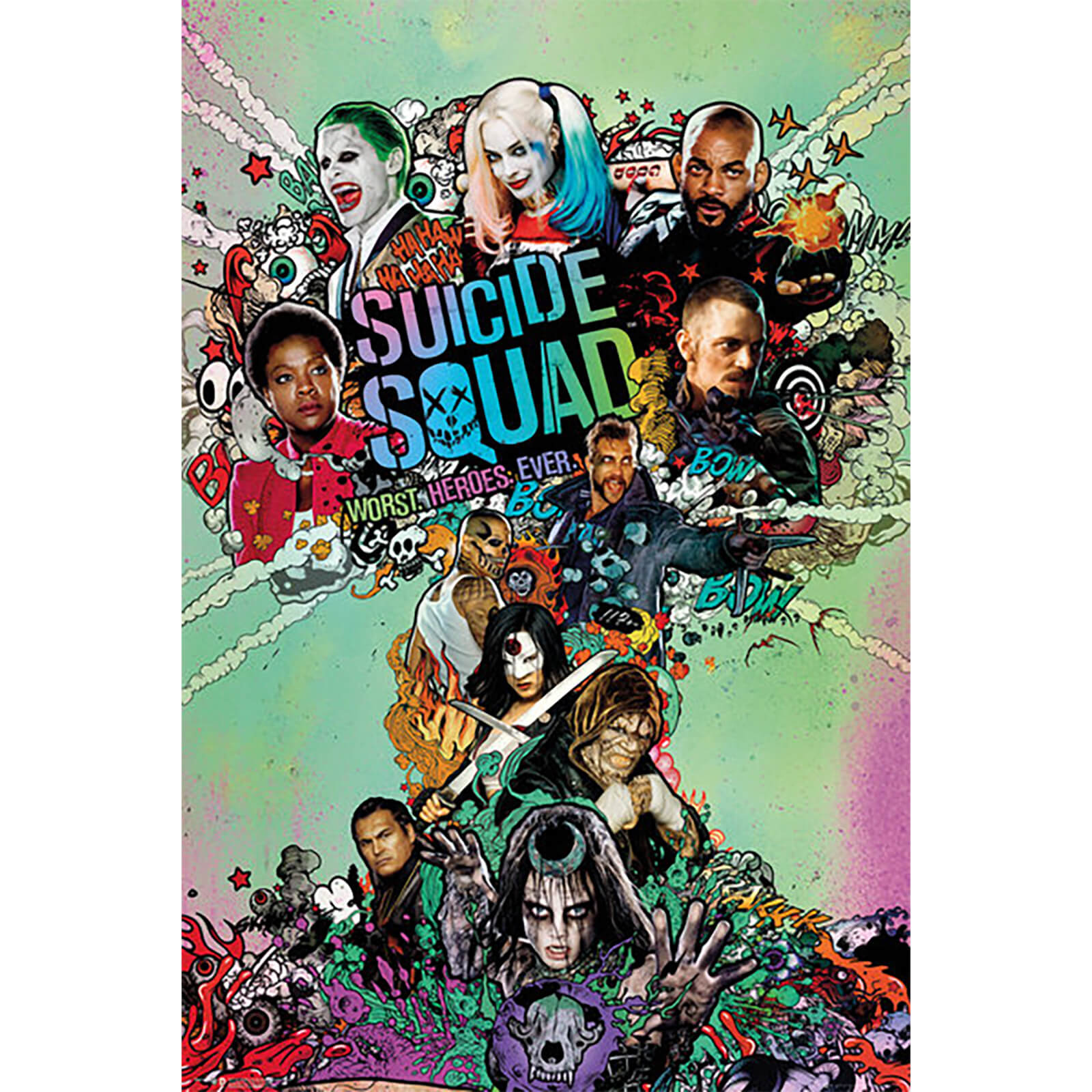 Suicide Squad One Sheet - 61 x 91.5cm Maxi Poster