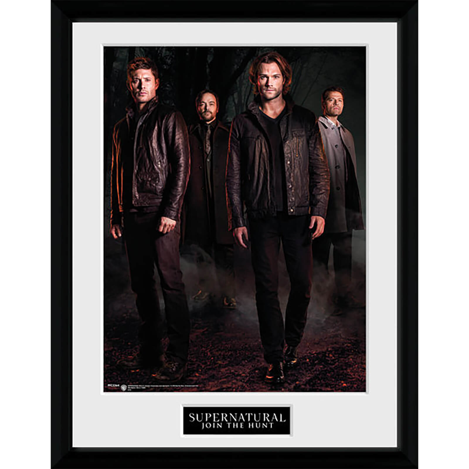 Supernatural Key Art - 16 x 12 Inches Framed Photograph