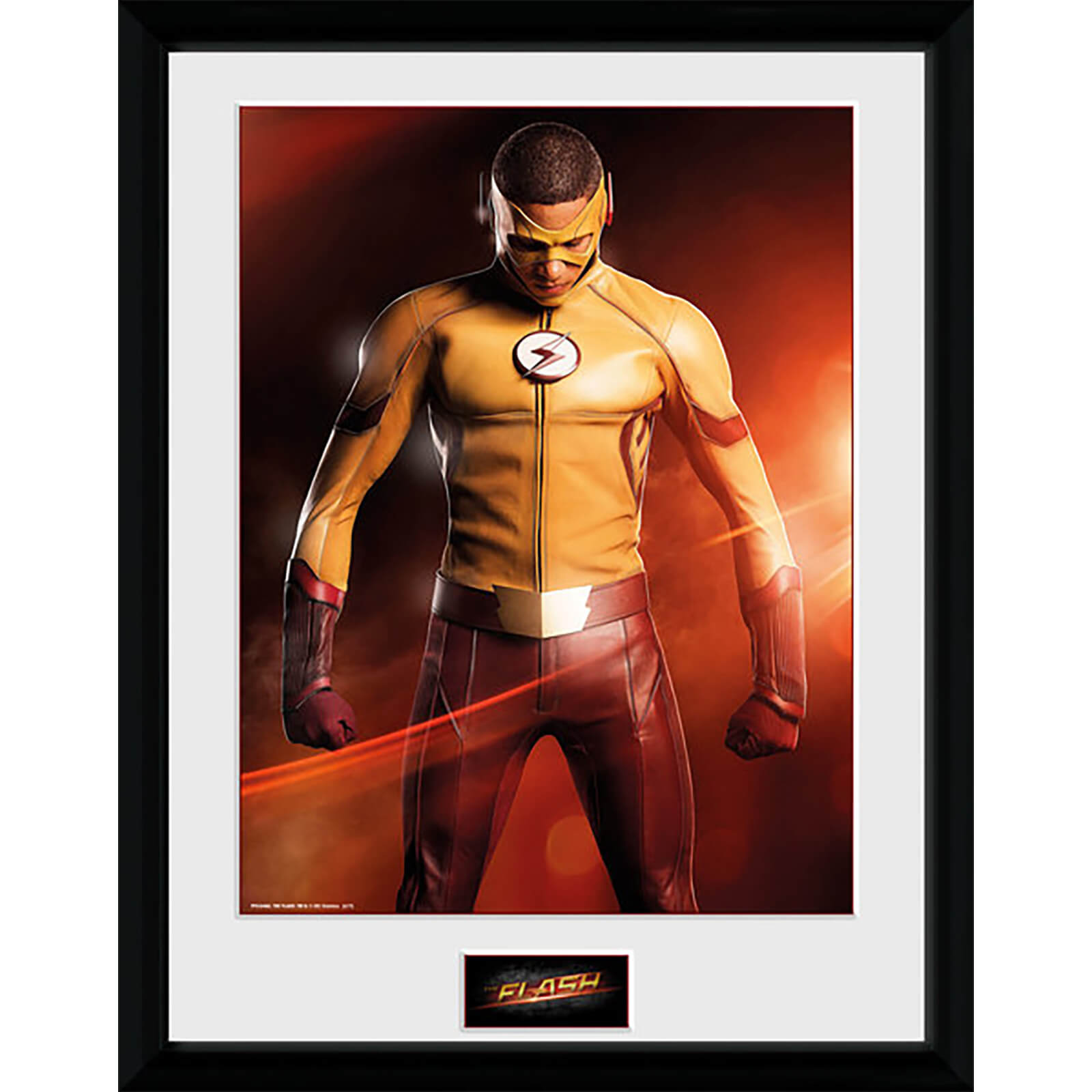 The Flash Kid Flash - 16 x 12 Inches Framed Photograph